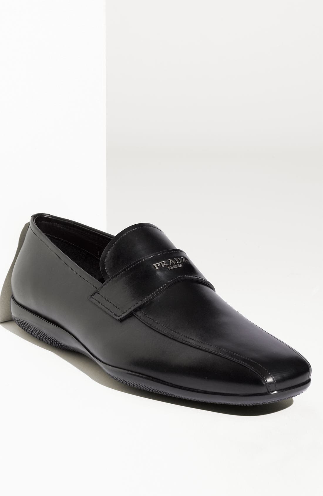 Main Image - Prada Logo Bit Slip-On (Men)