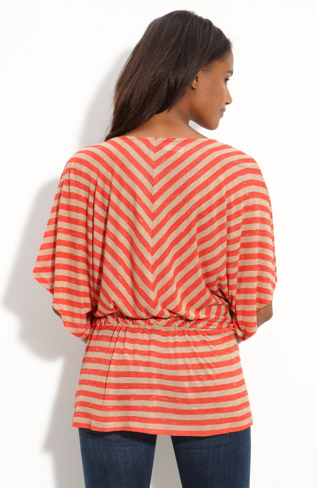 Alternate Image 2  - Ella Moss 'Ashby' Stripe Dolman Sleeve Tee