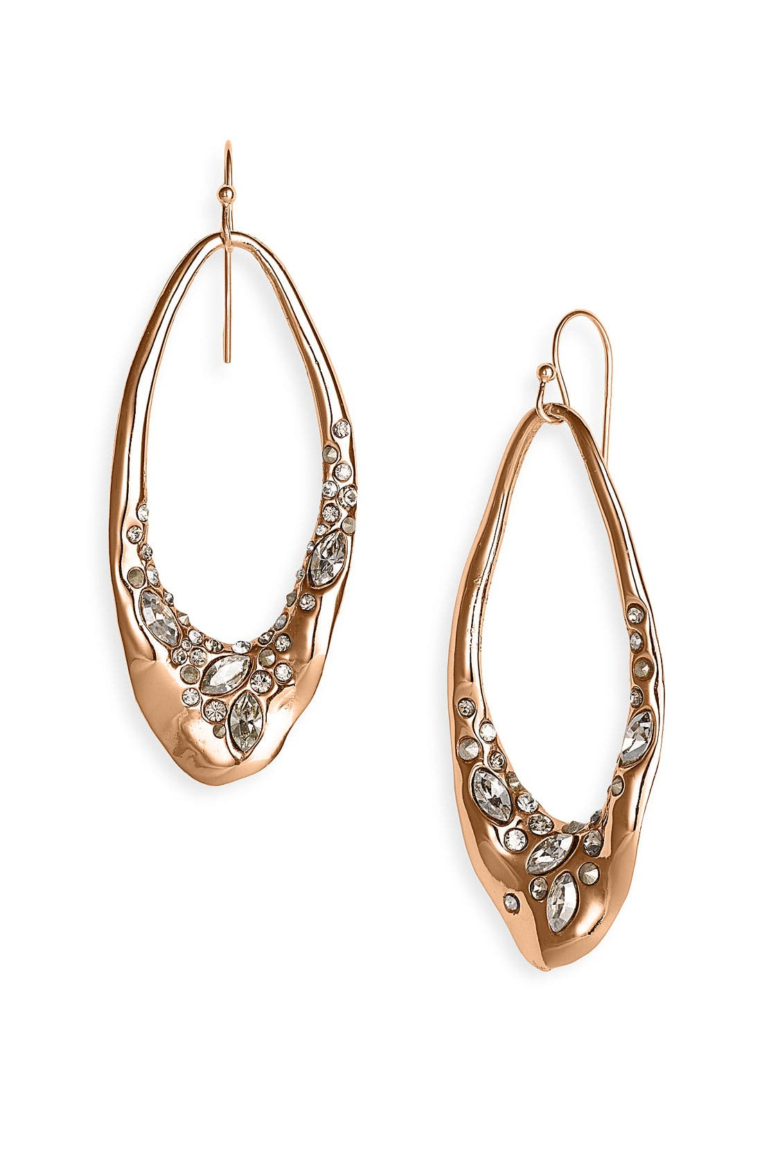 Main Image - Alexis Bittar 'Miss Havisham' Encrusted Liquid Link Earrings (Nordstrom Exclusive)