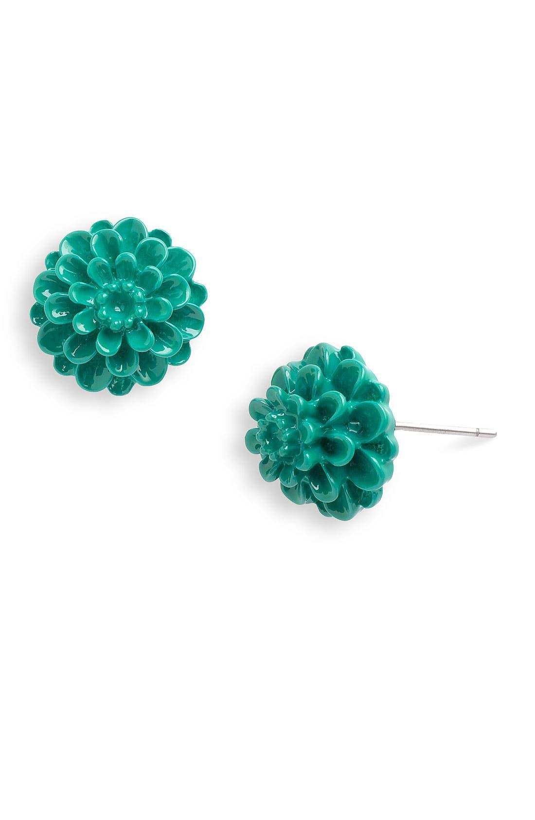 Main Image - Stephan & Co. Dahlia Stud Earrings