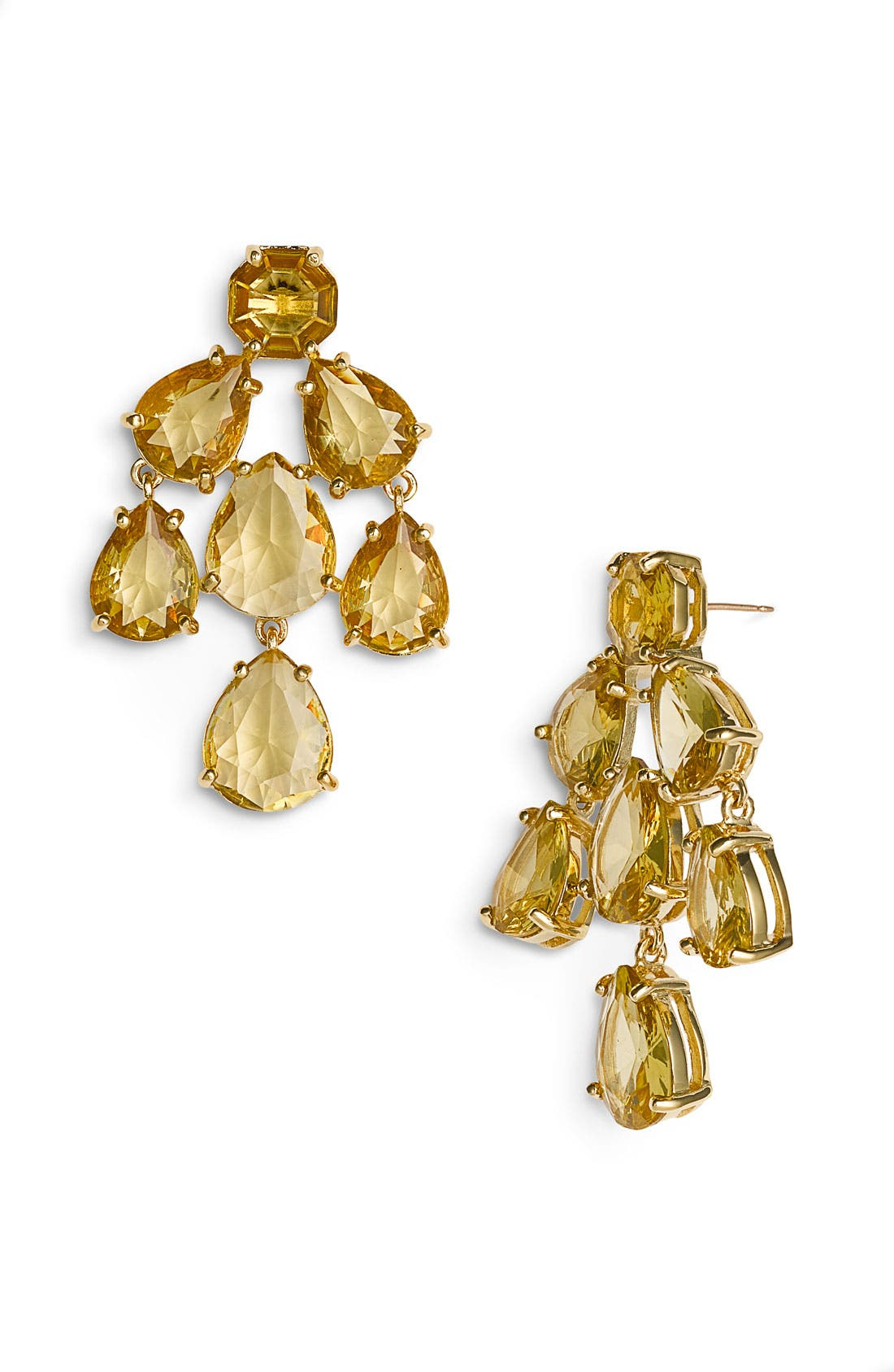 Main Image - kate spade new york faceted chandelier statement earrings