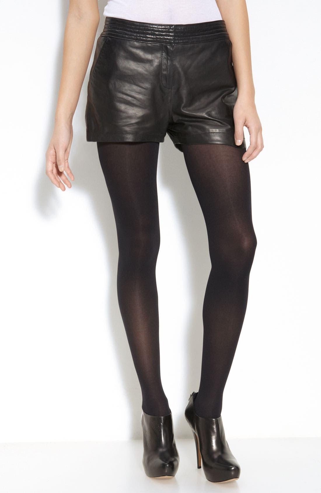 Main Image - Trouvé Leather Shorts