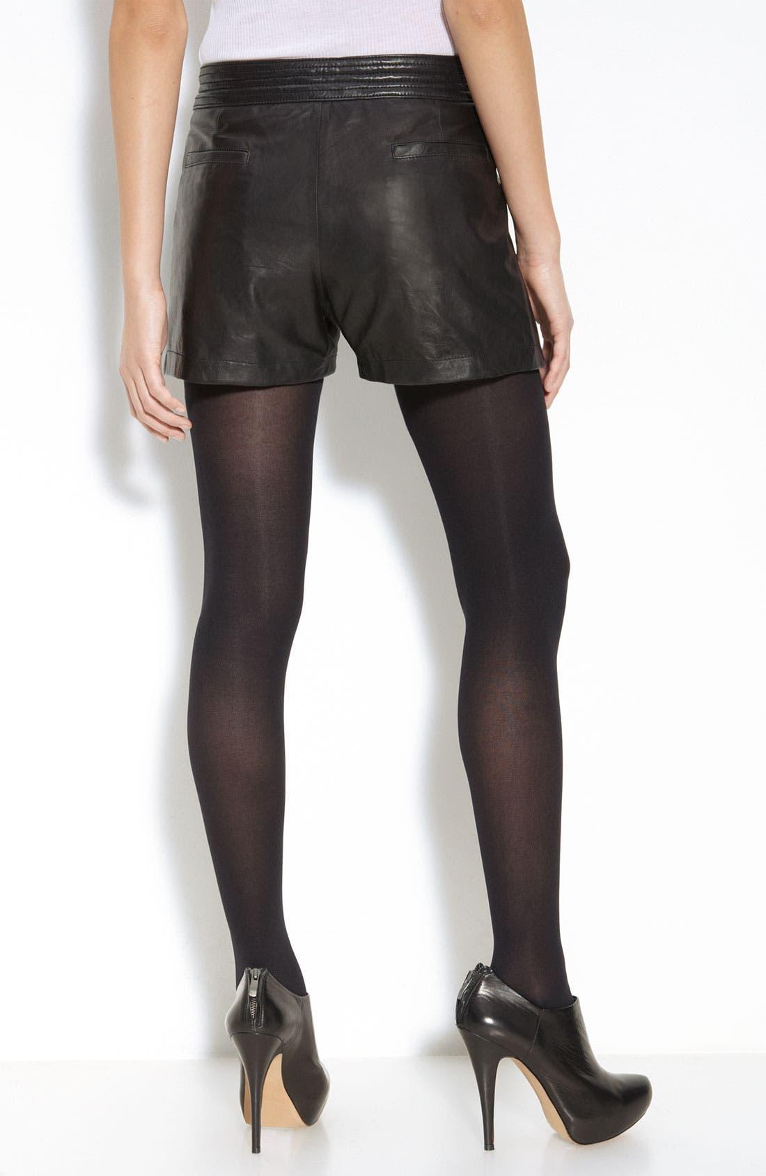 Alternate Image 2  - Trouvé Leather Shorts