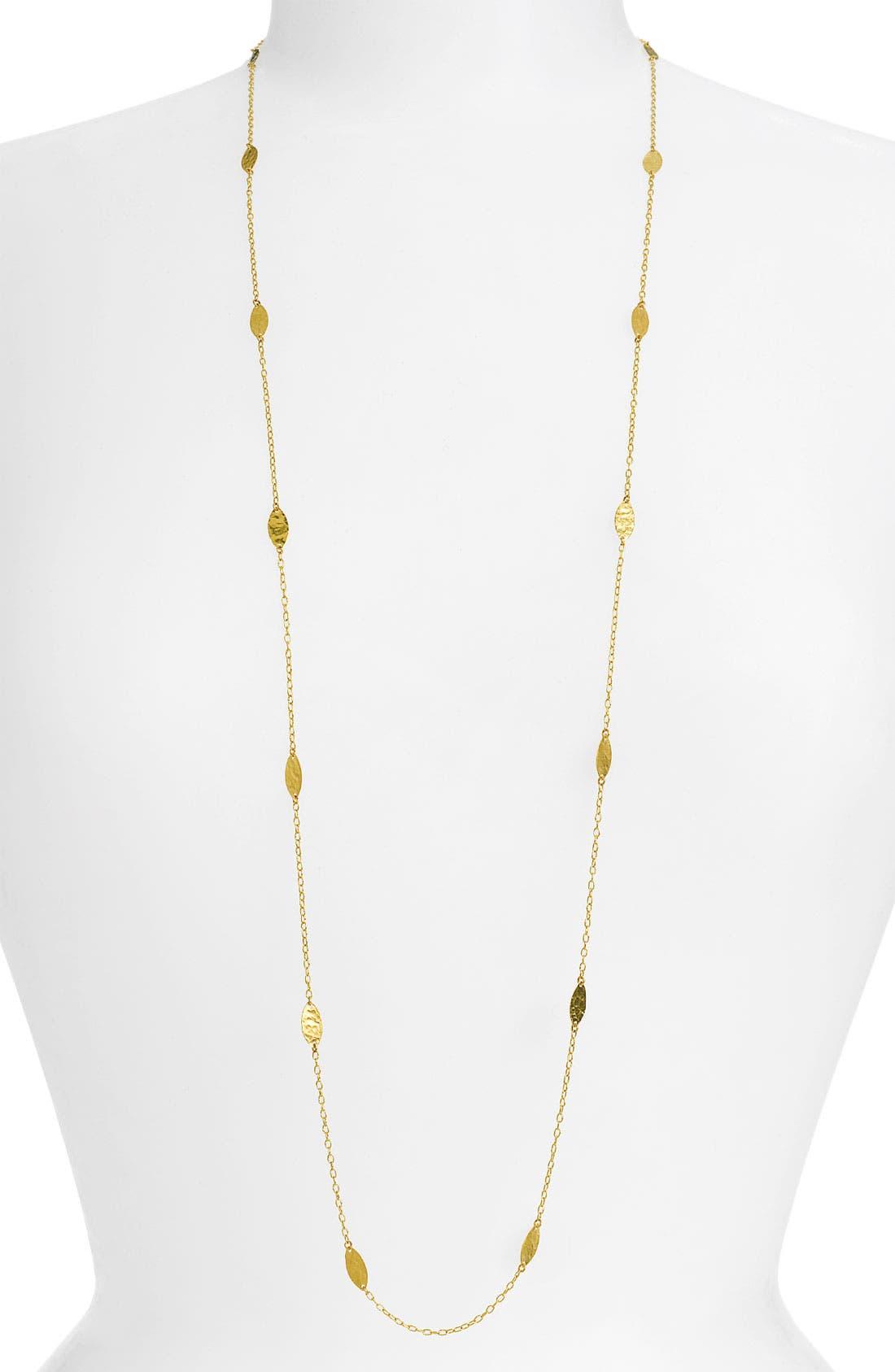 Alternate Image 1 Selected - Gurhan 'Willow' Long Leaf Necklace