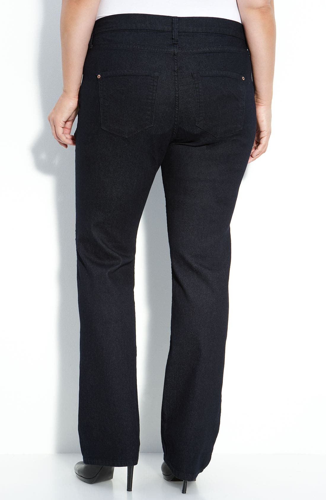 Alternate Image 2  - James Jeans Straight Leg Jeans (Seduction D) (Plus)