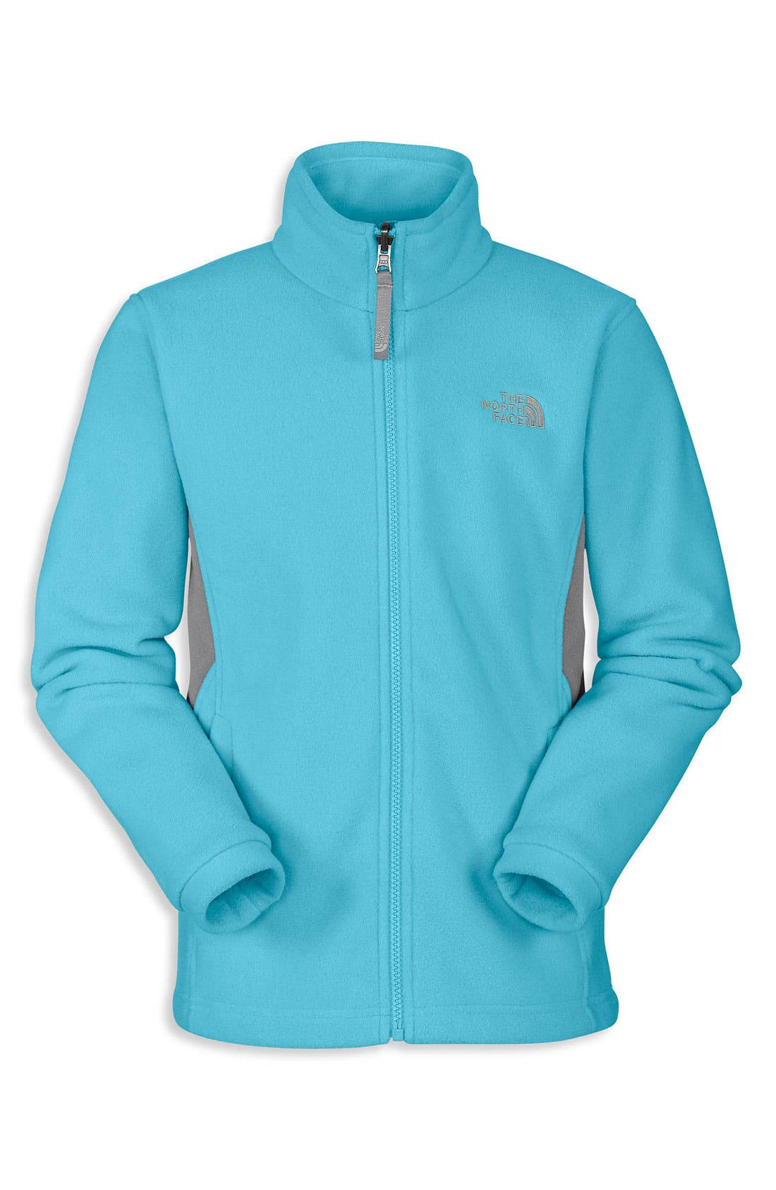 Alternate Image 1 Selected - The North Face 'Khumbu' Fleece Jacket (Big Girls)