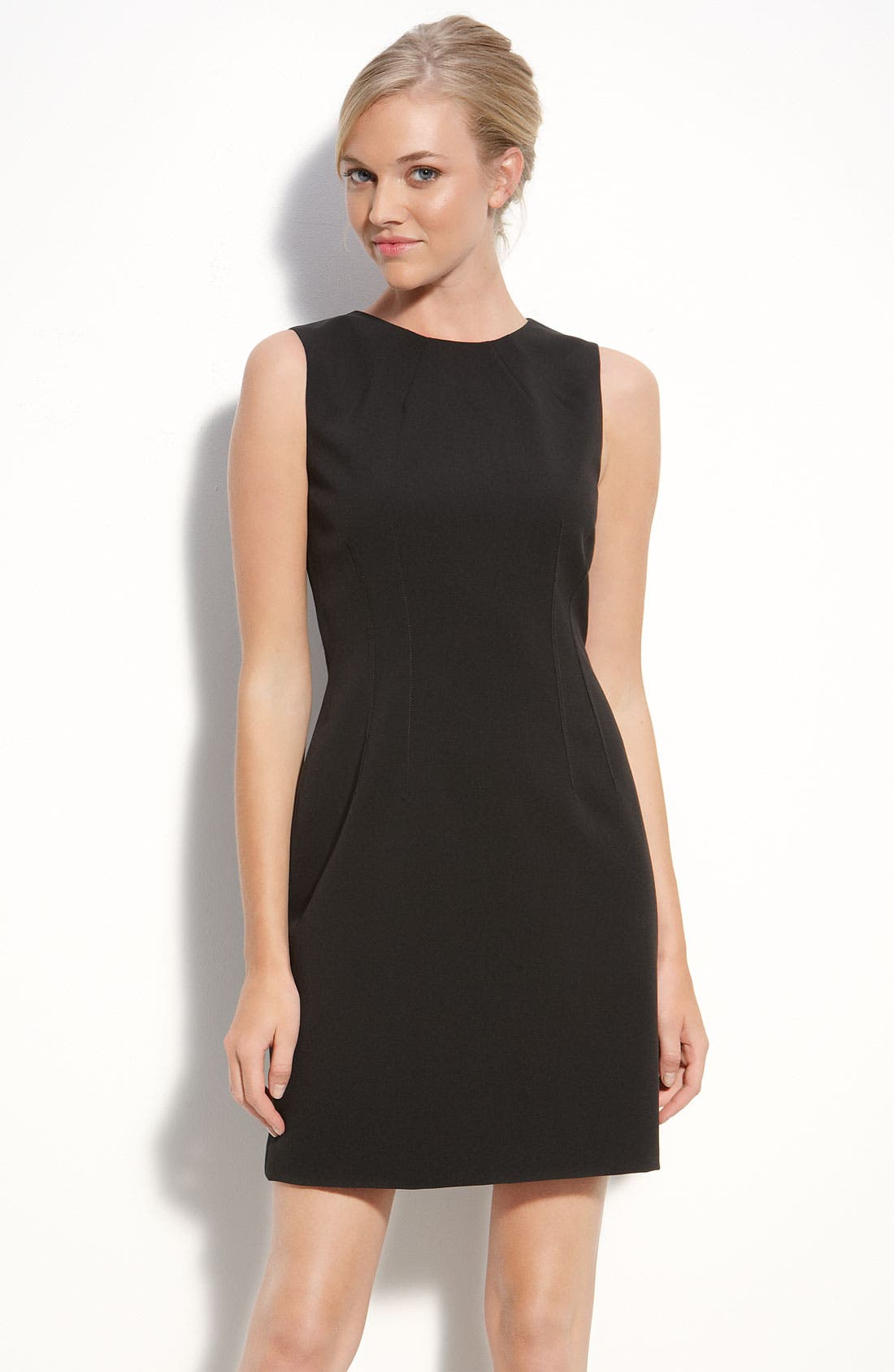 Alternate Image 1 Selected - T Tahari 'Dakota' Sheath Dress (Petite)