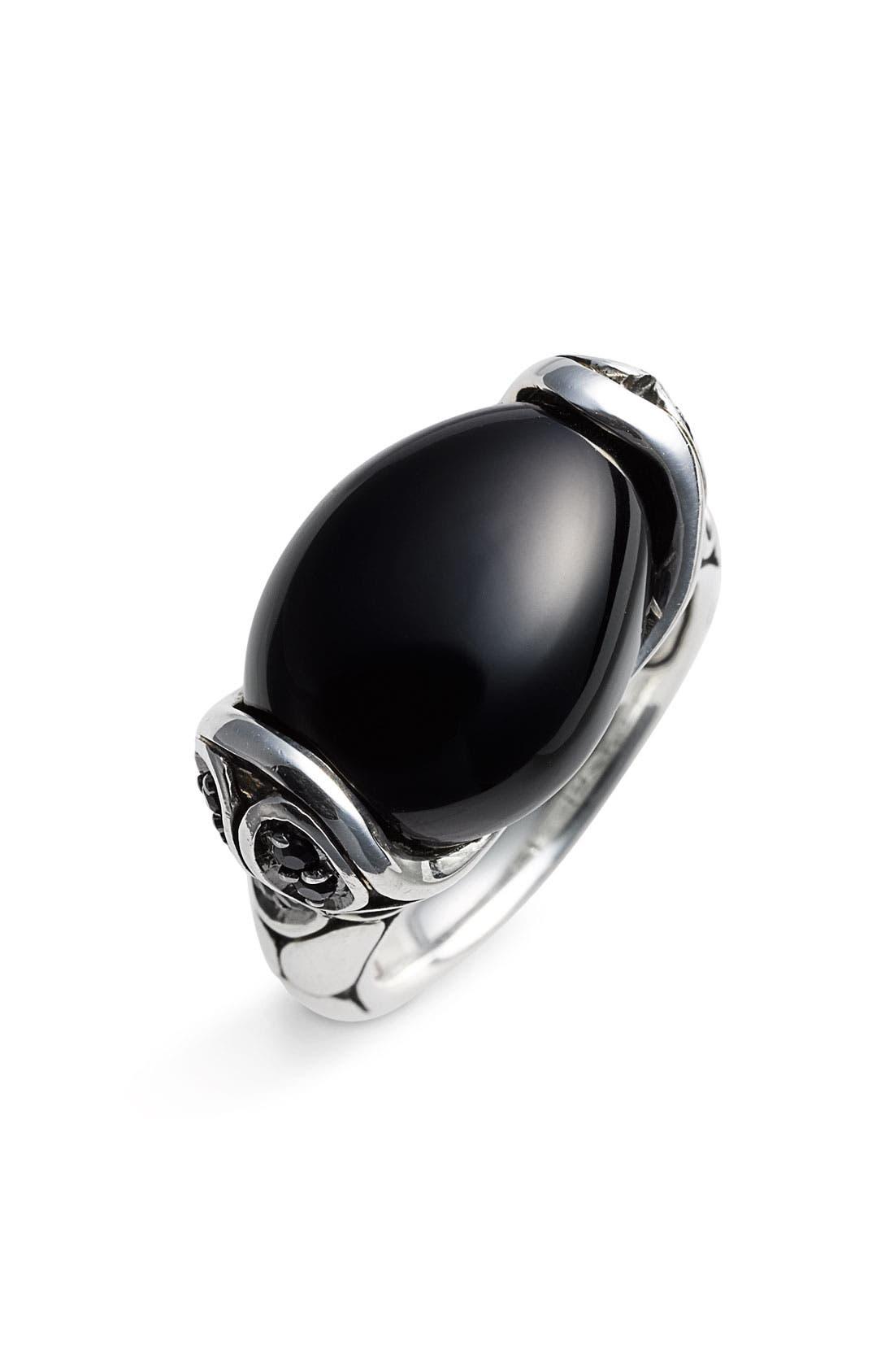 Alternate Image 1 Selected - John Hardy 'Kali' Oval Stone Ring
