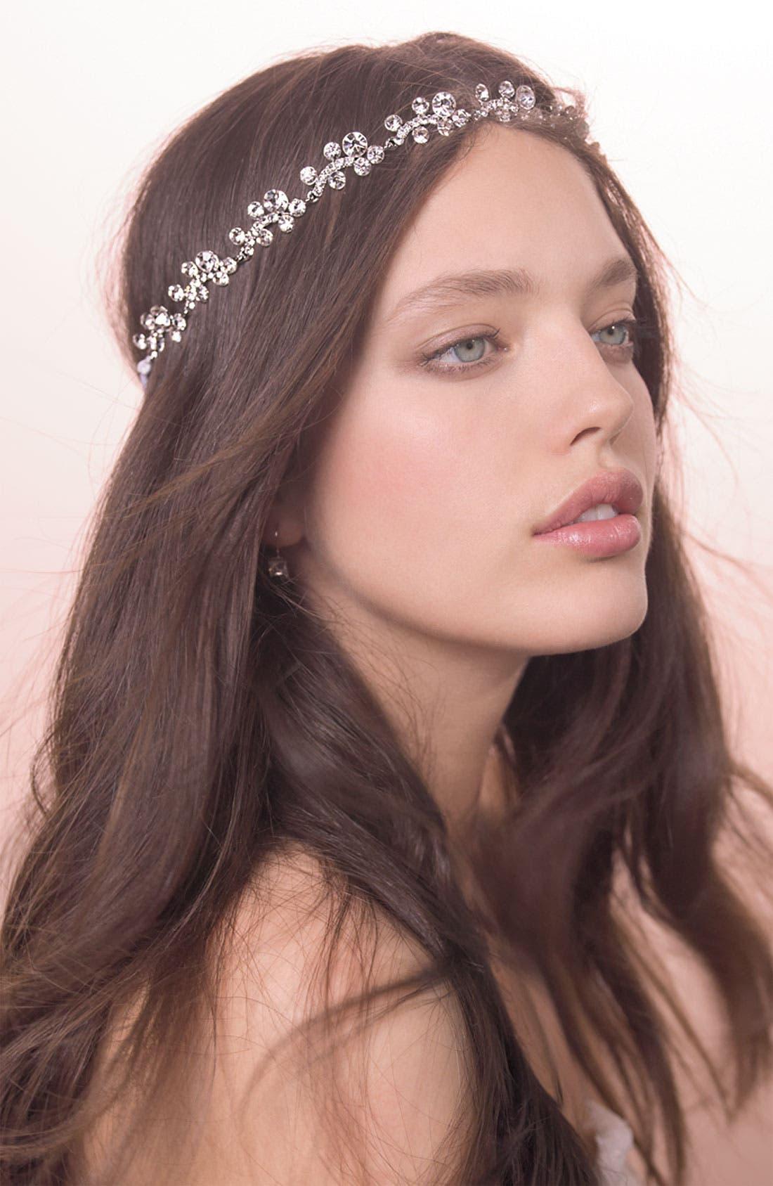 Alternate Image 2  - Tasha 'Crystal Tiara' Head Wrap