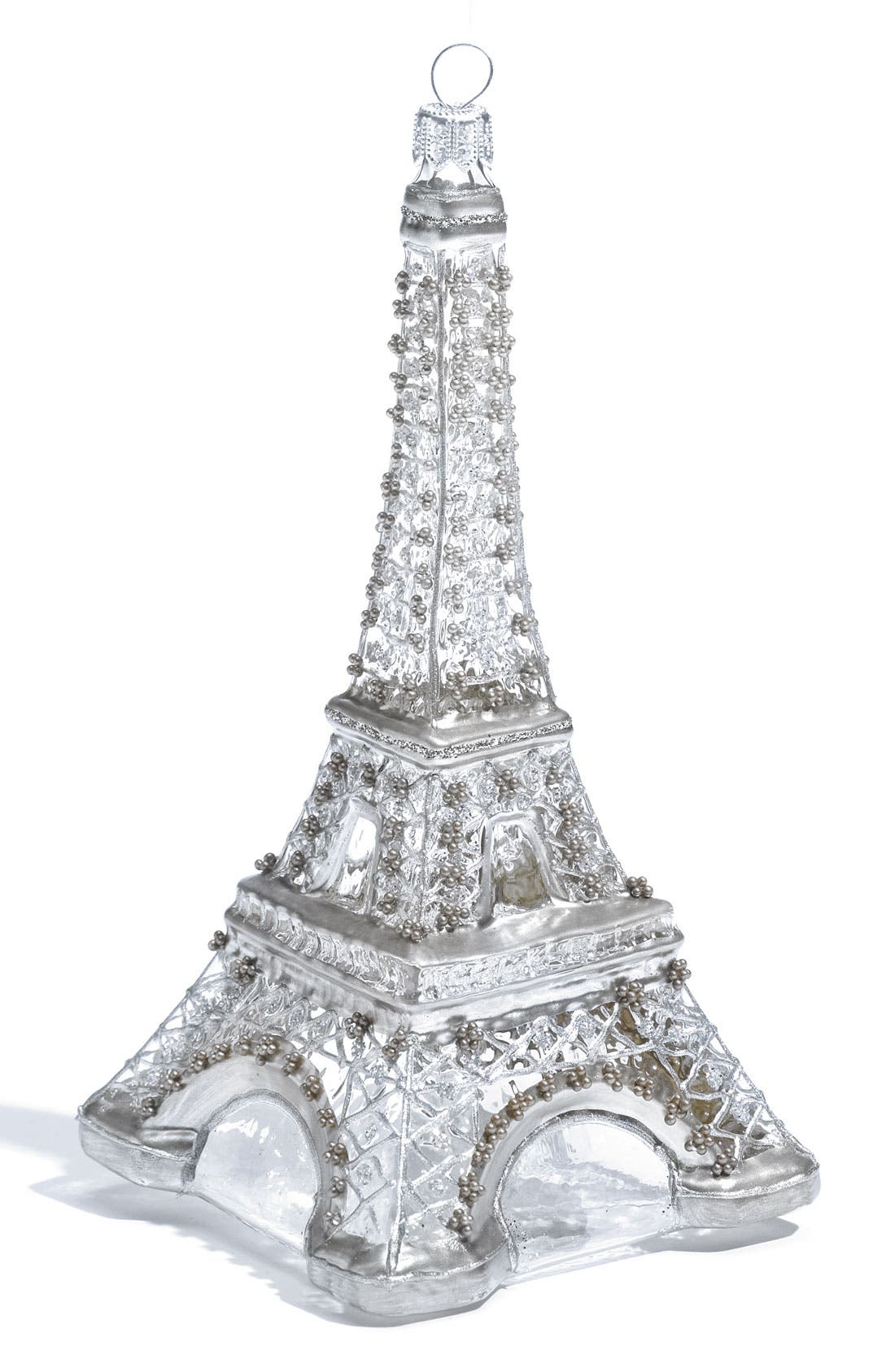 Alternate Image 1 Selected - Nordstrom at Home 'Eiffel Tower' Glass Ornament