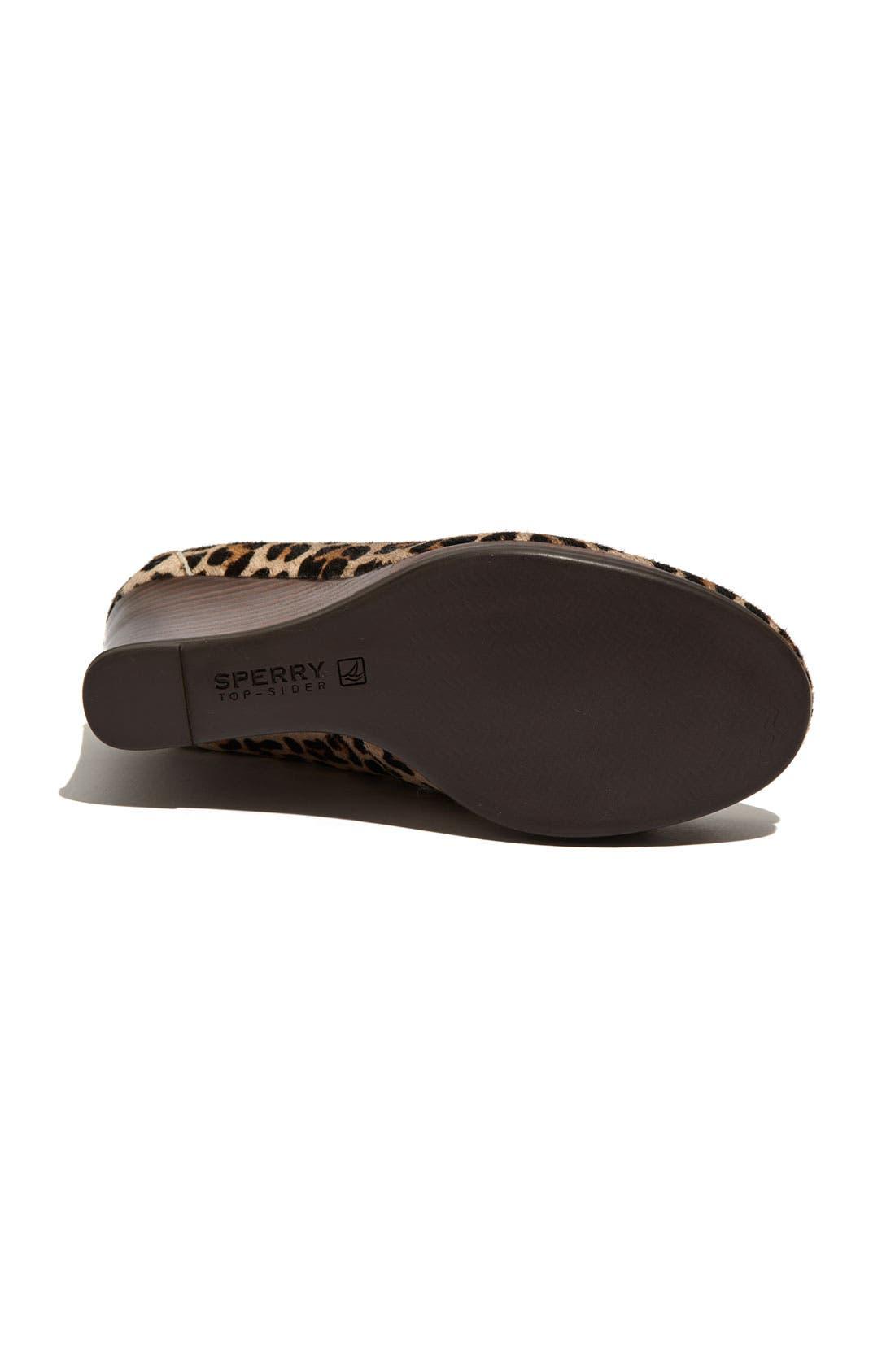Alternate Image 4  - Sperry Top-Sider® 'Fairwind' Wedge Loafer