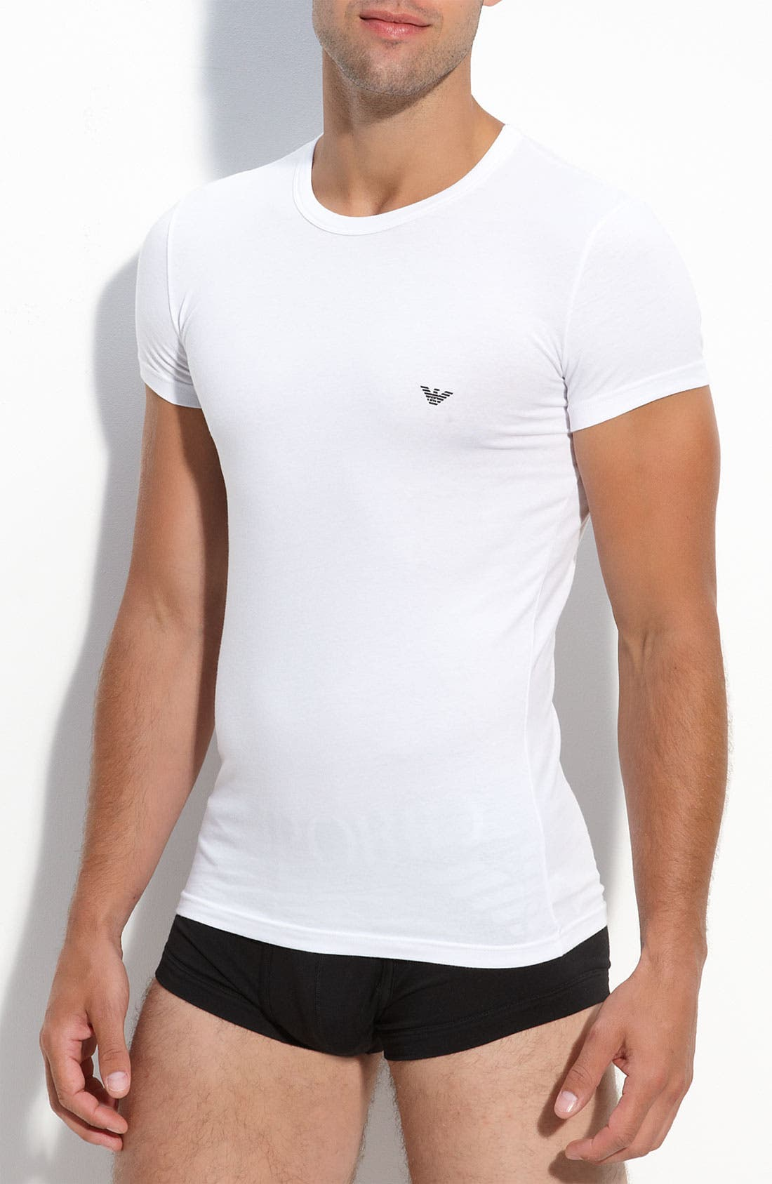 Alternate Image 1 Selected - Emporio Armani 'Eagle' Crewneck T-Shirt