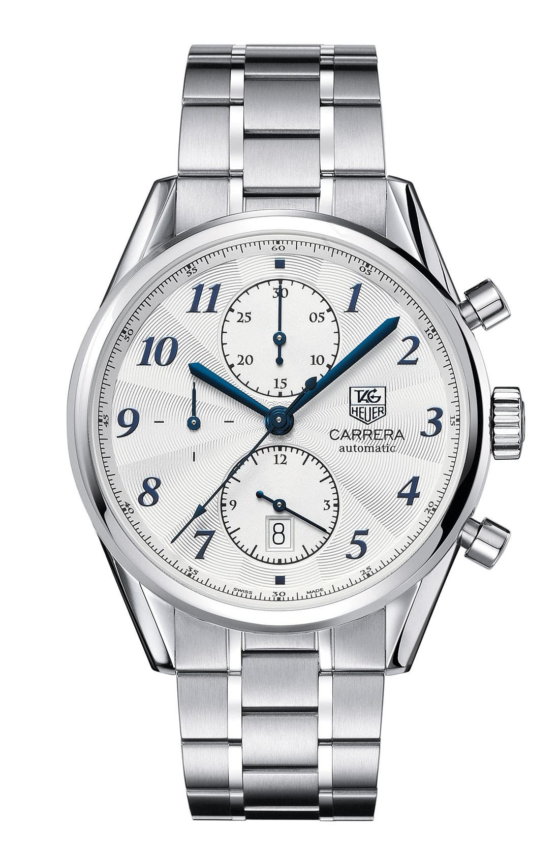 Alternate Image 1 Selected - TAG Heuer 'Carrera Heritage' Automatic Chronograph Watch