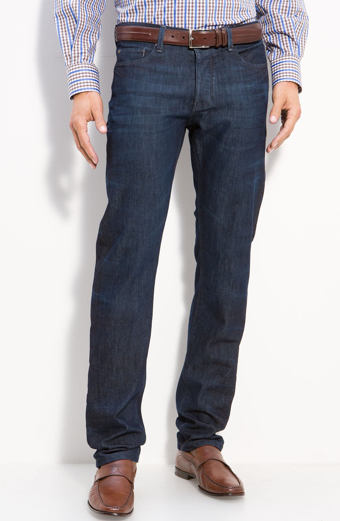 Alternate Image 1 Selected - DL1961 'Russell' Slim Straight Jeans (Como)