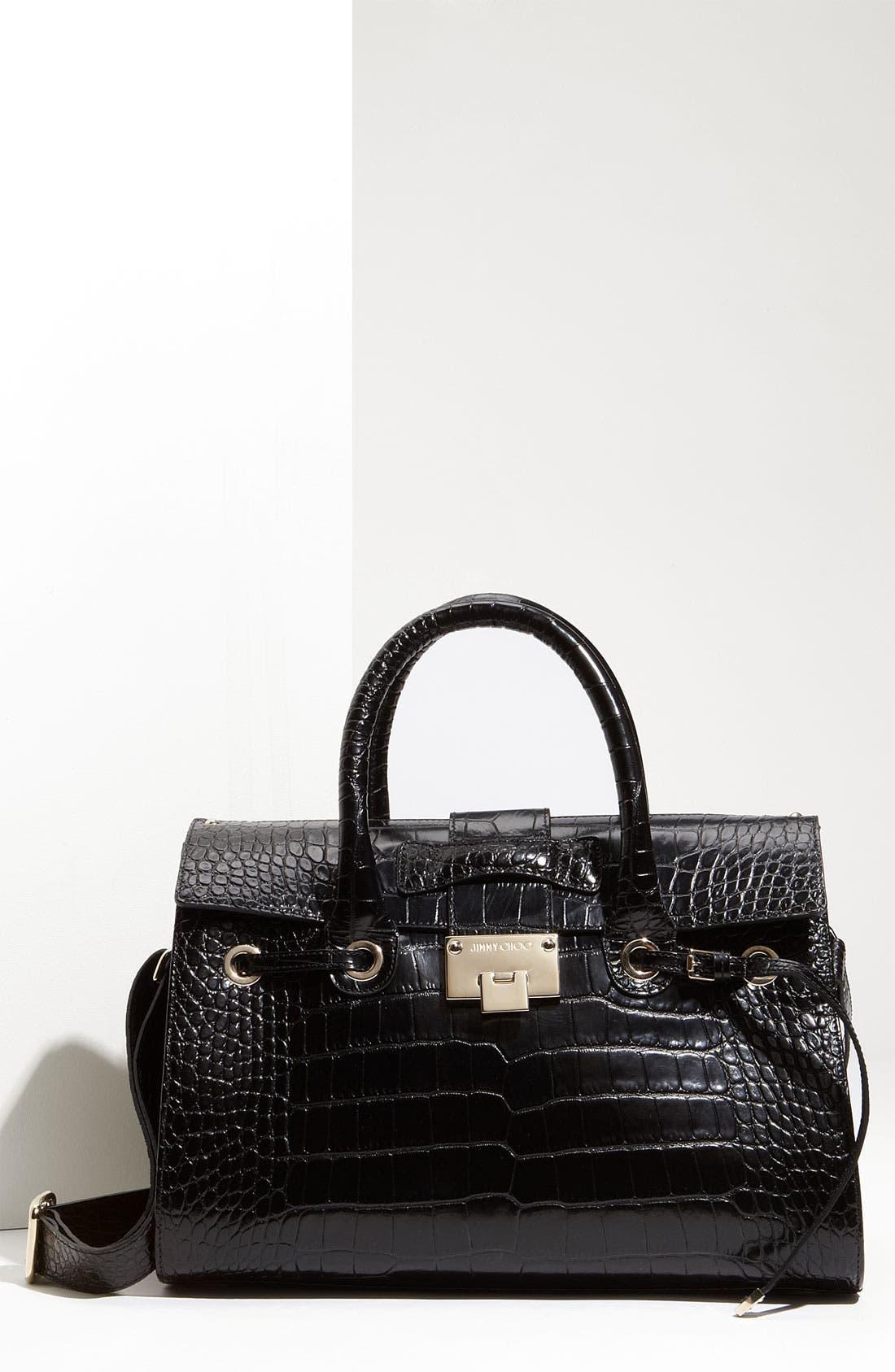 Alternate Image 1 Selected - Jimmy Choo 'Rosalie' Leather Satchel