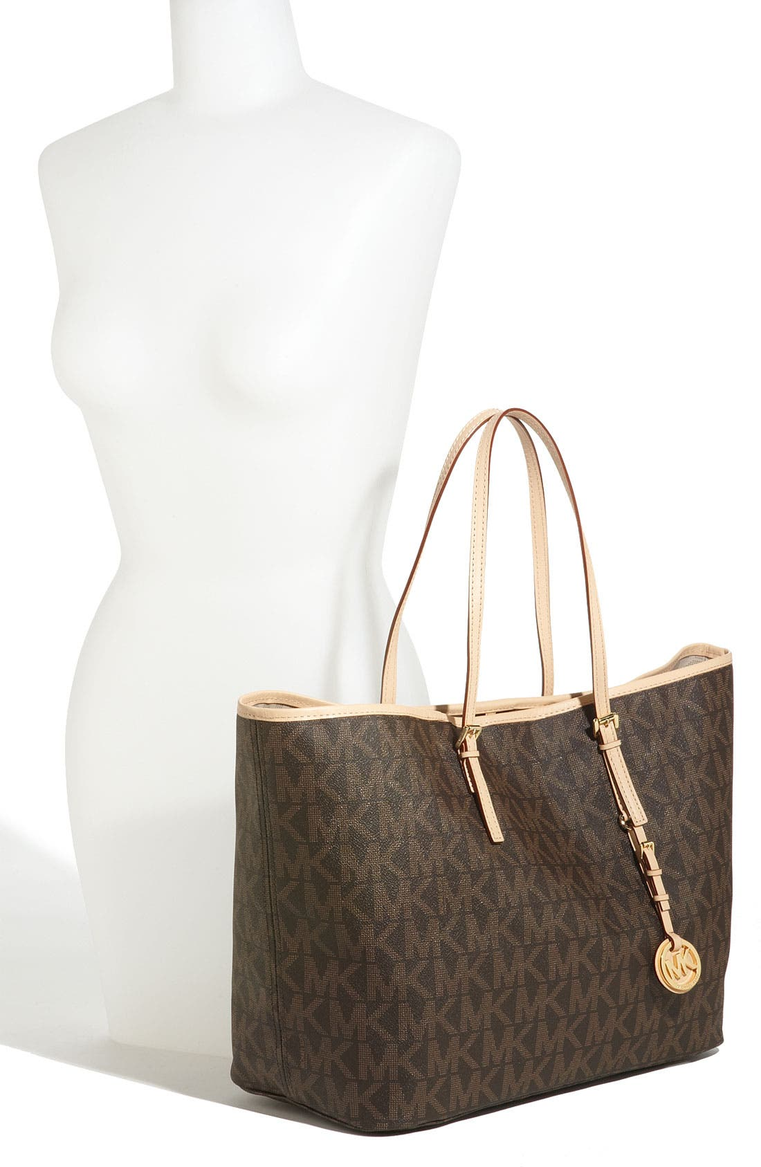 Alternate Image 2  - MICHAEL Michael Kors 'Jet Set - Medium' Travel Tote