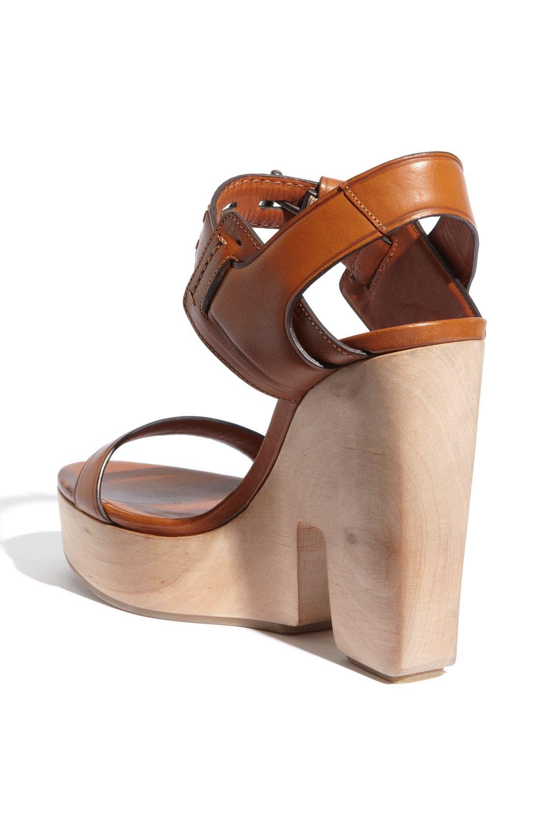 Alternate Image 2  - Reed Krakoff Cutout Wedge Sandal