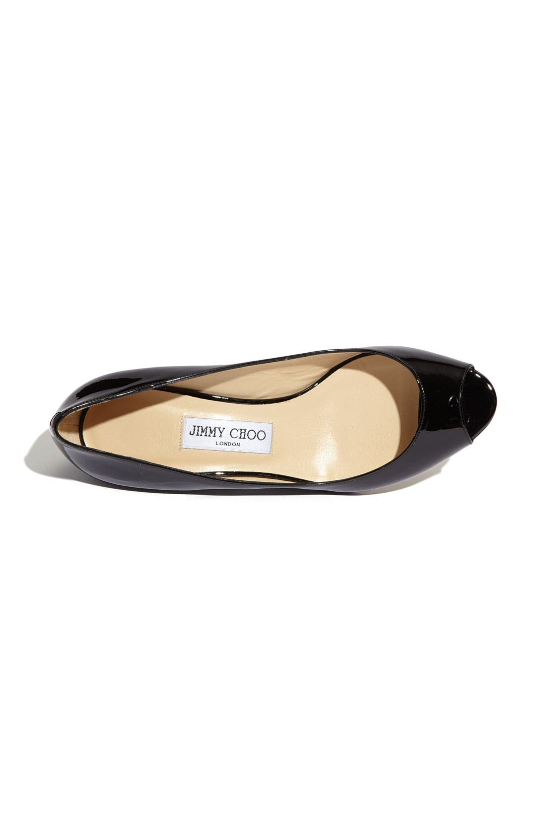 Alternate Image 3  - Jimmy Choo 'Bergen' Peep Toe Wedge