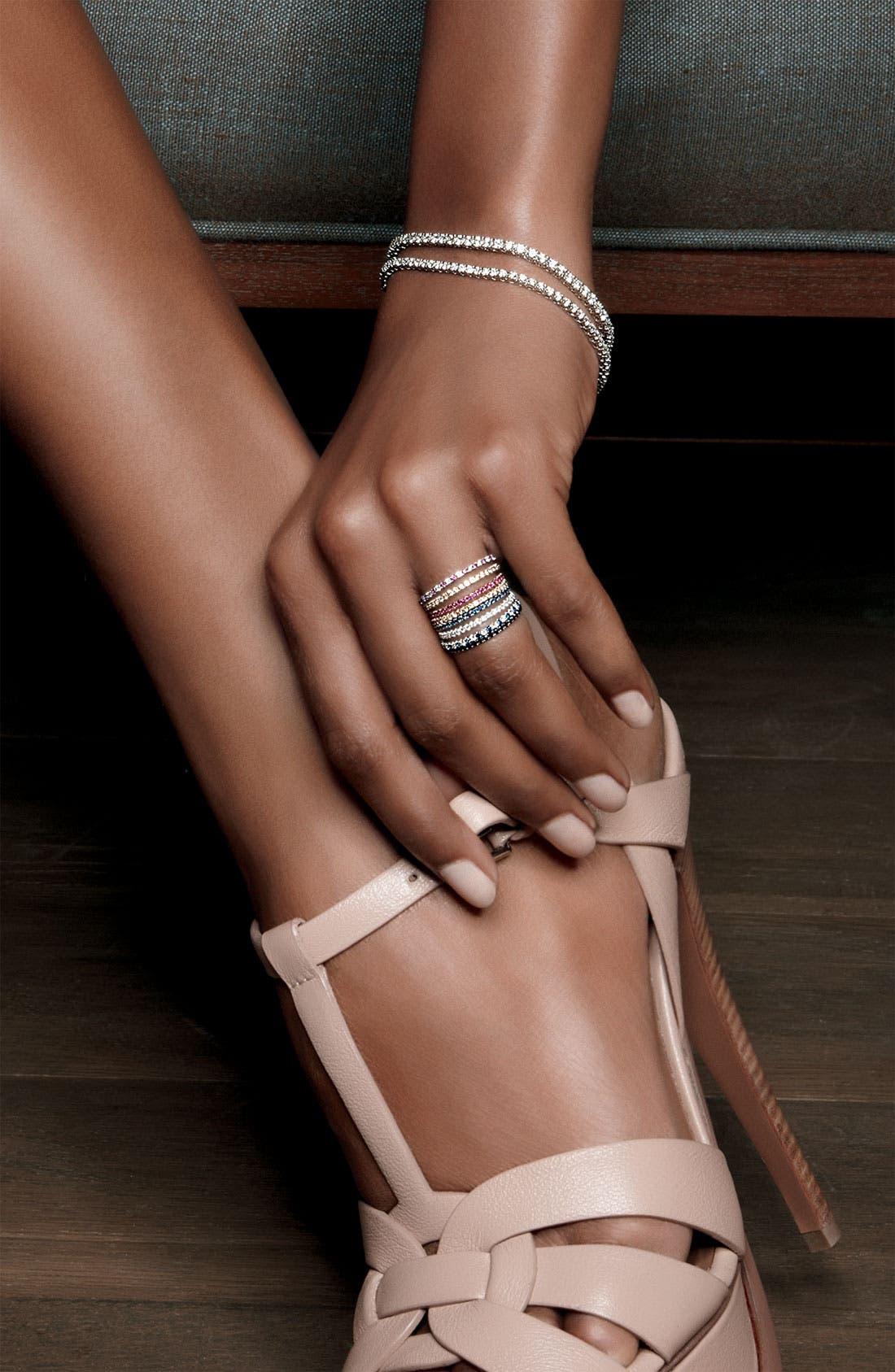 Alternate Image 2  - Kwiat Diamond & Ruby Stackable Ring