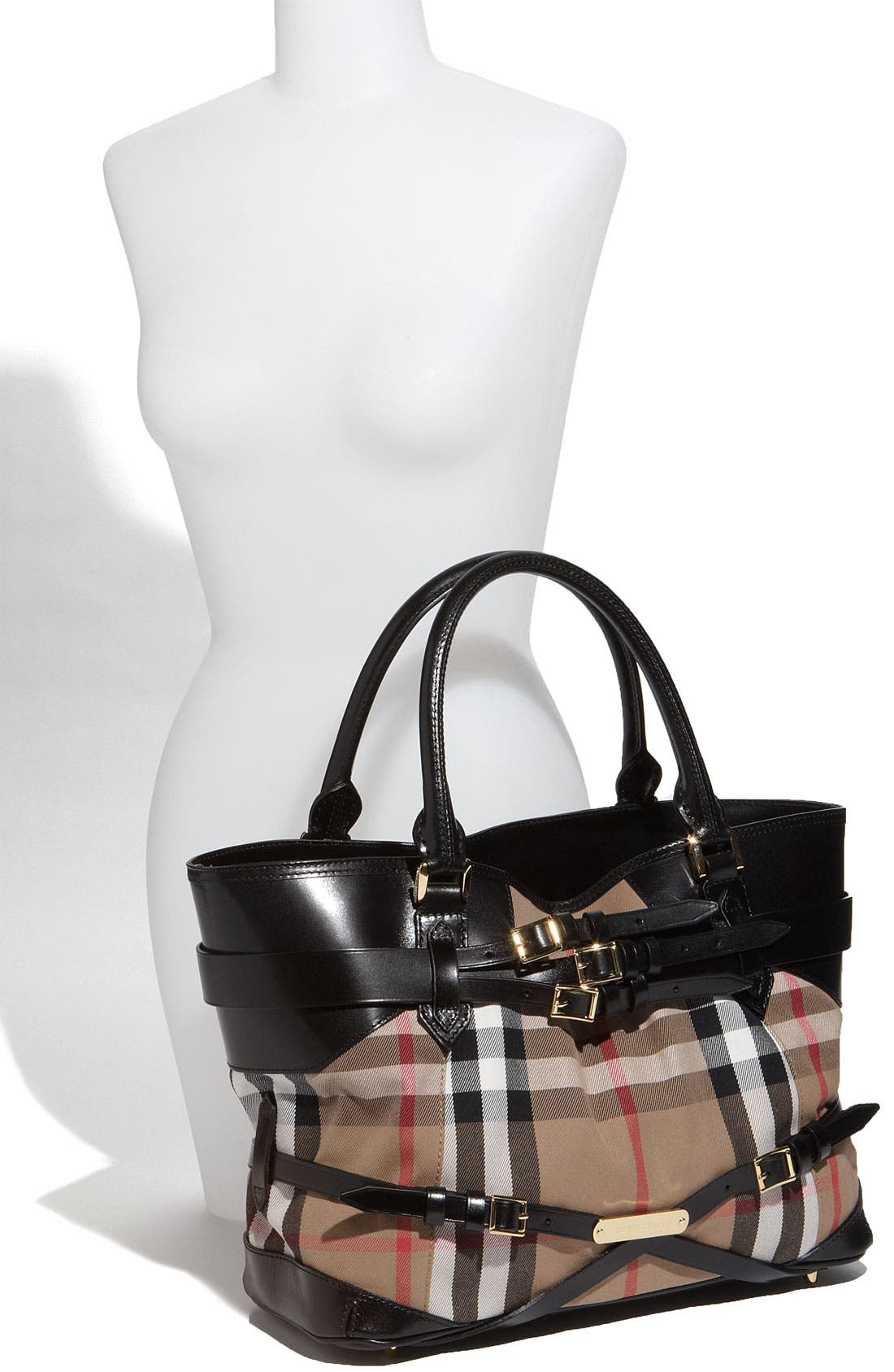 Alternate Image 2  - Burberry 'House Check' Tote, Large