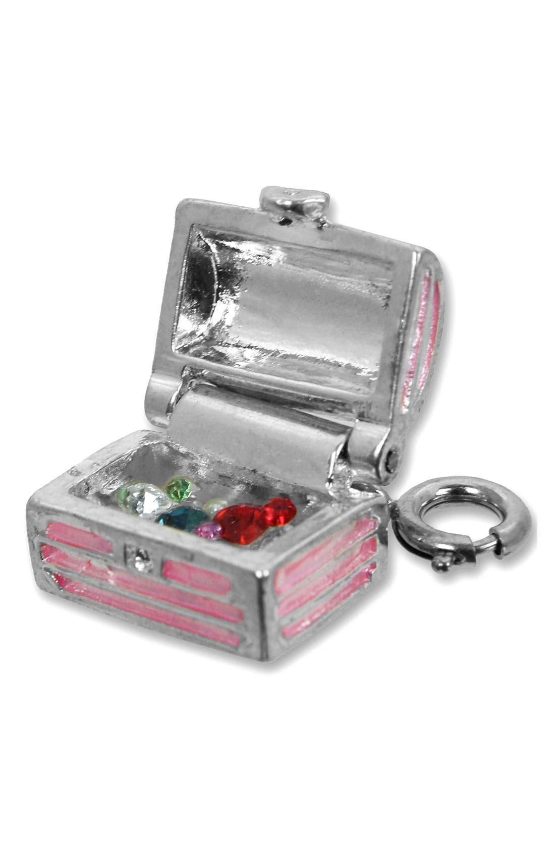 Alternate Image 2  - CHARM IT!® 'Treasure Chest' Charm (Girls)