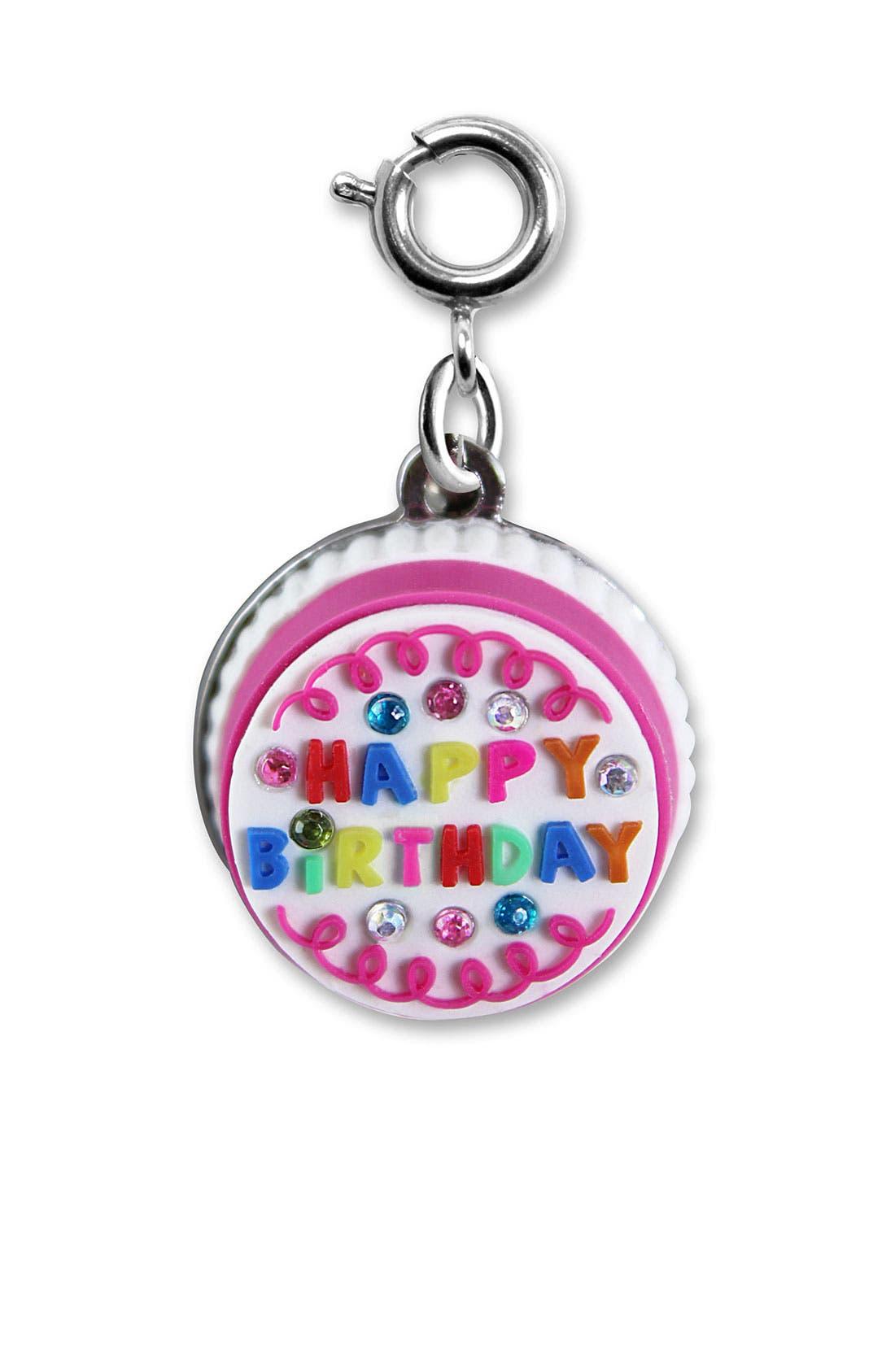 Alternate Image 1 Selected - CHARM IT!® 'Birthday Fun' Charm (Girls)