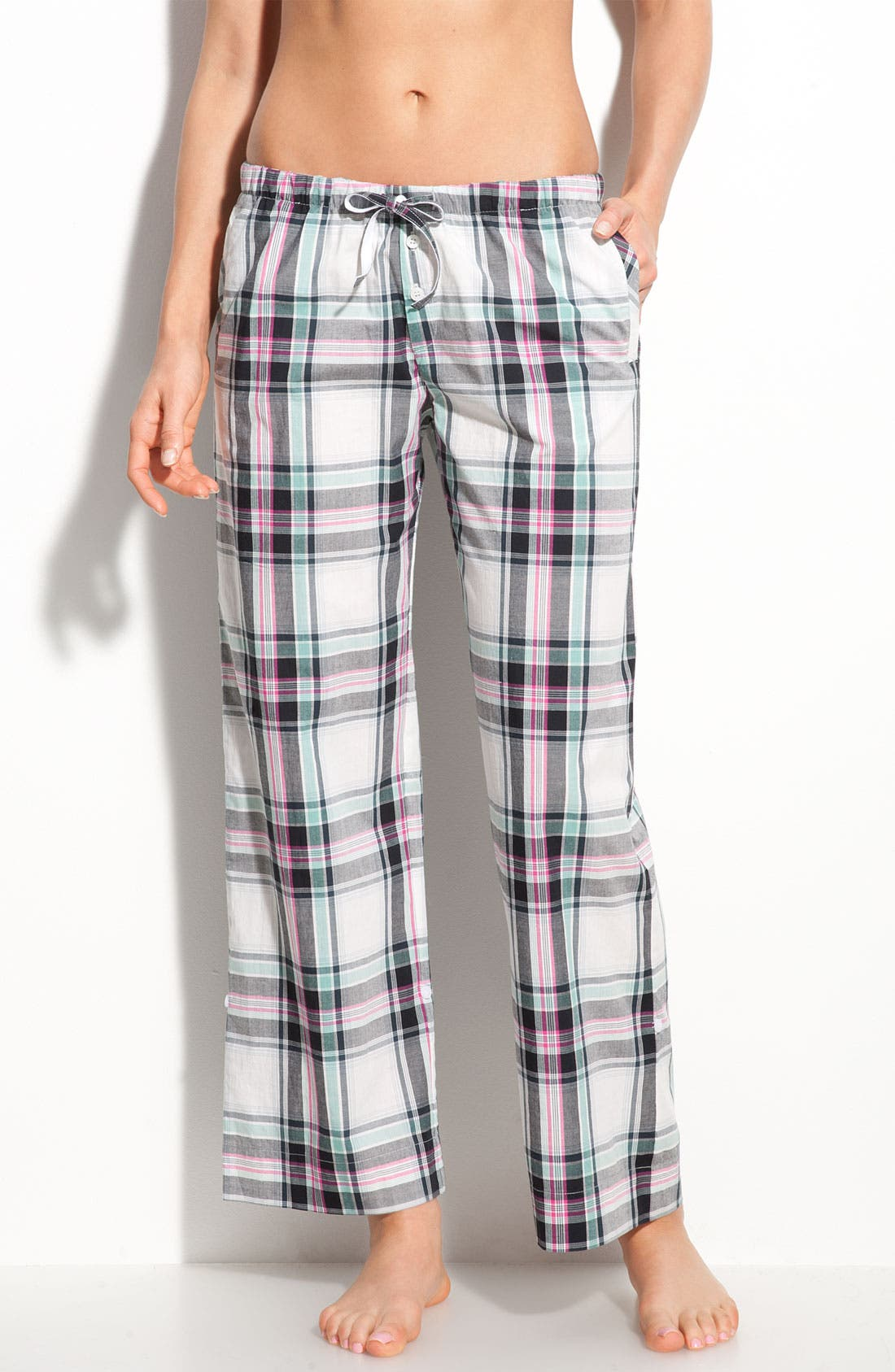 Alternate Image 1 Selected - DKNY 'In The Moment' Convertible Sleep Pants