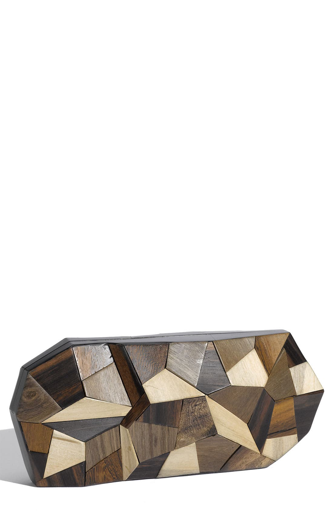 Alternate Image 1 Selected - Rafé New York 'Maryanne' Wood Minaudiere