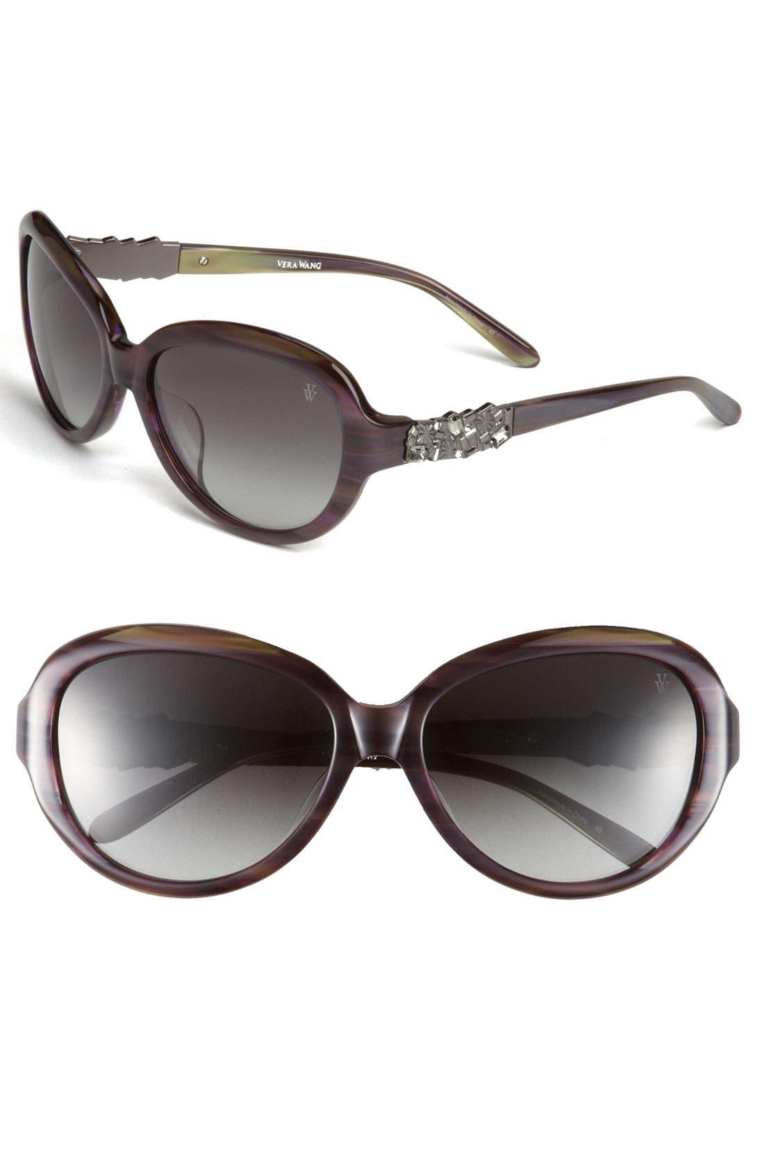 Main Image - Vera Wang 'Aquaria' Sunglasses