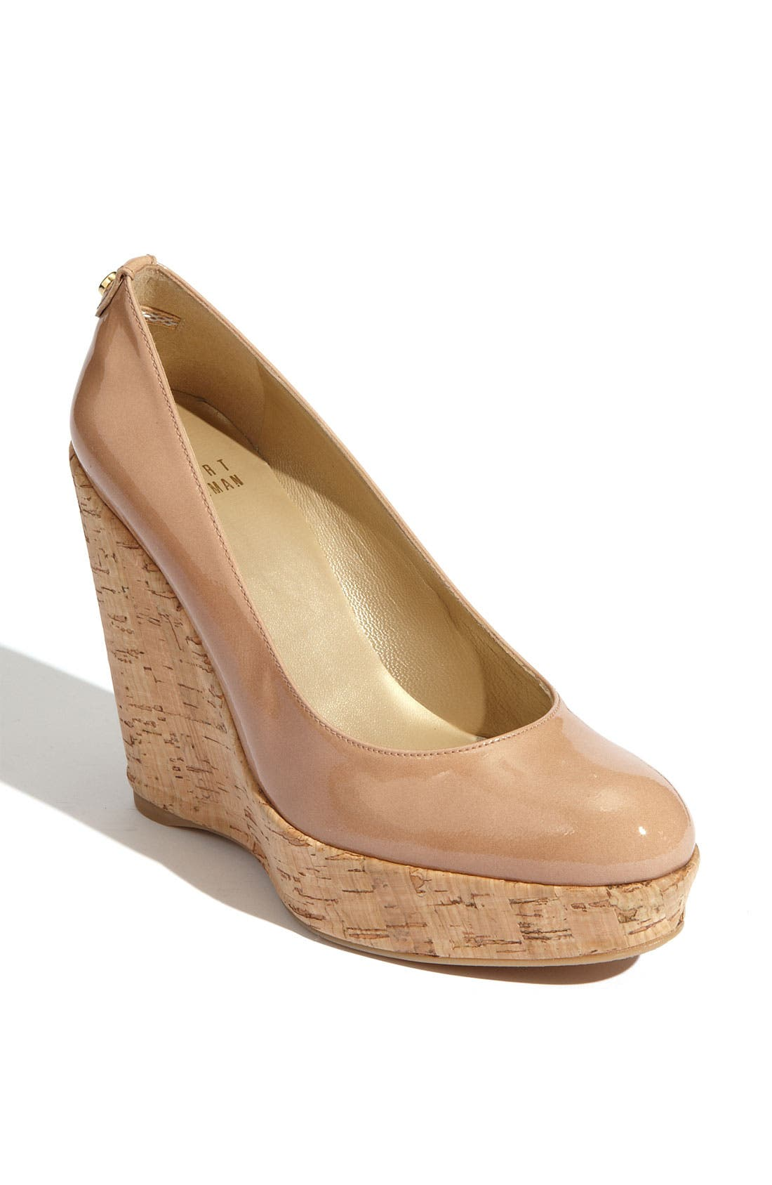 Alternate Image 1 Selected - Stuart Weitzman 'Corkswoon' Wedge