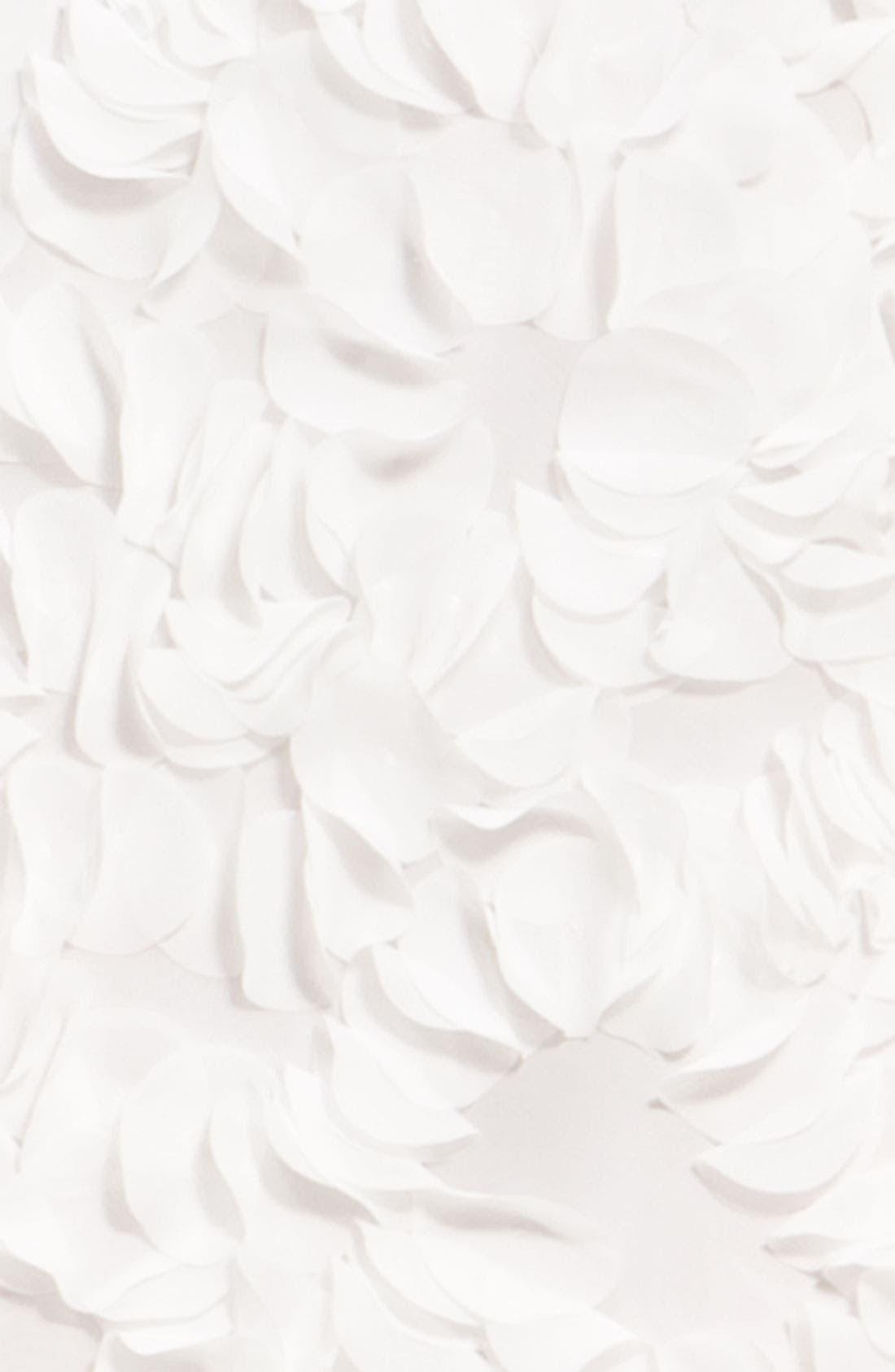 Alternate Image 4  - JS Collections Chiffon Petal Strapless Sheath Dress
