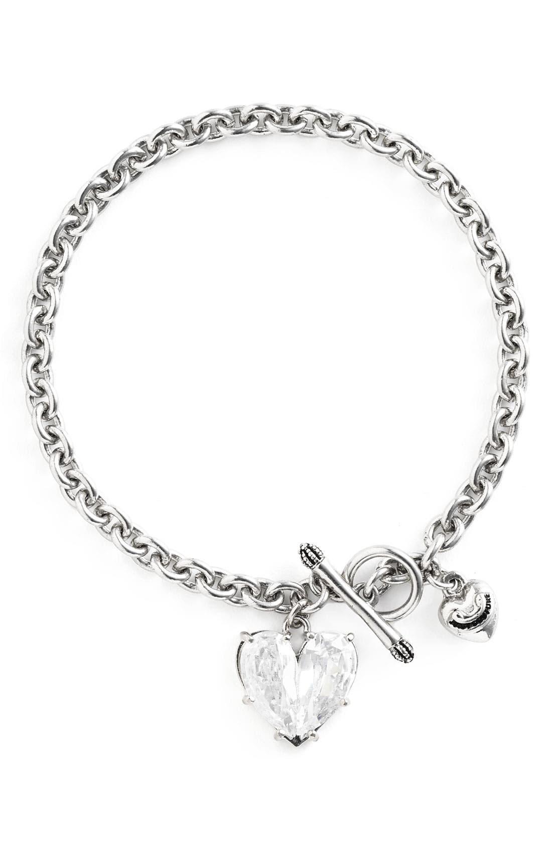 Alternate Image 1 Selected - Juicy Couture 'Juicy Icons CZ Wish' Bracelet