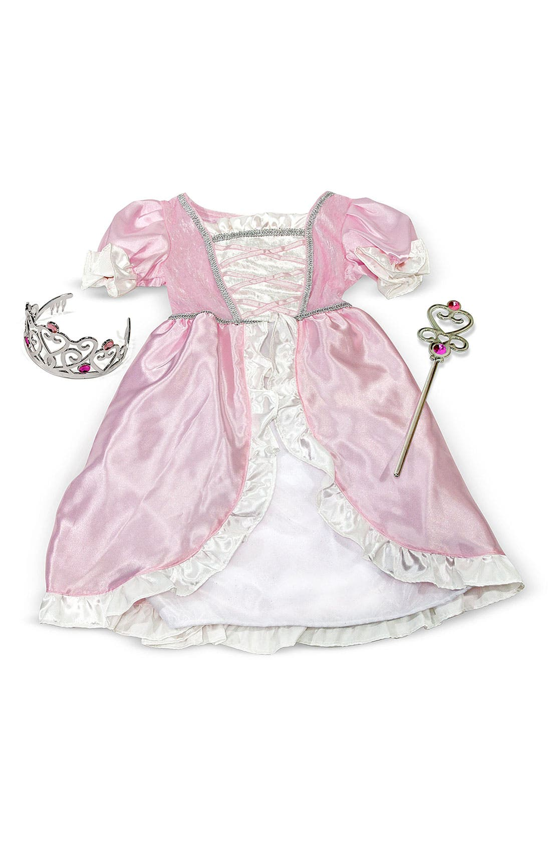 Alternate Image 2  - Melissa & Doug Princess Costume (Little Girls)