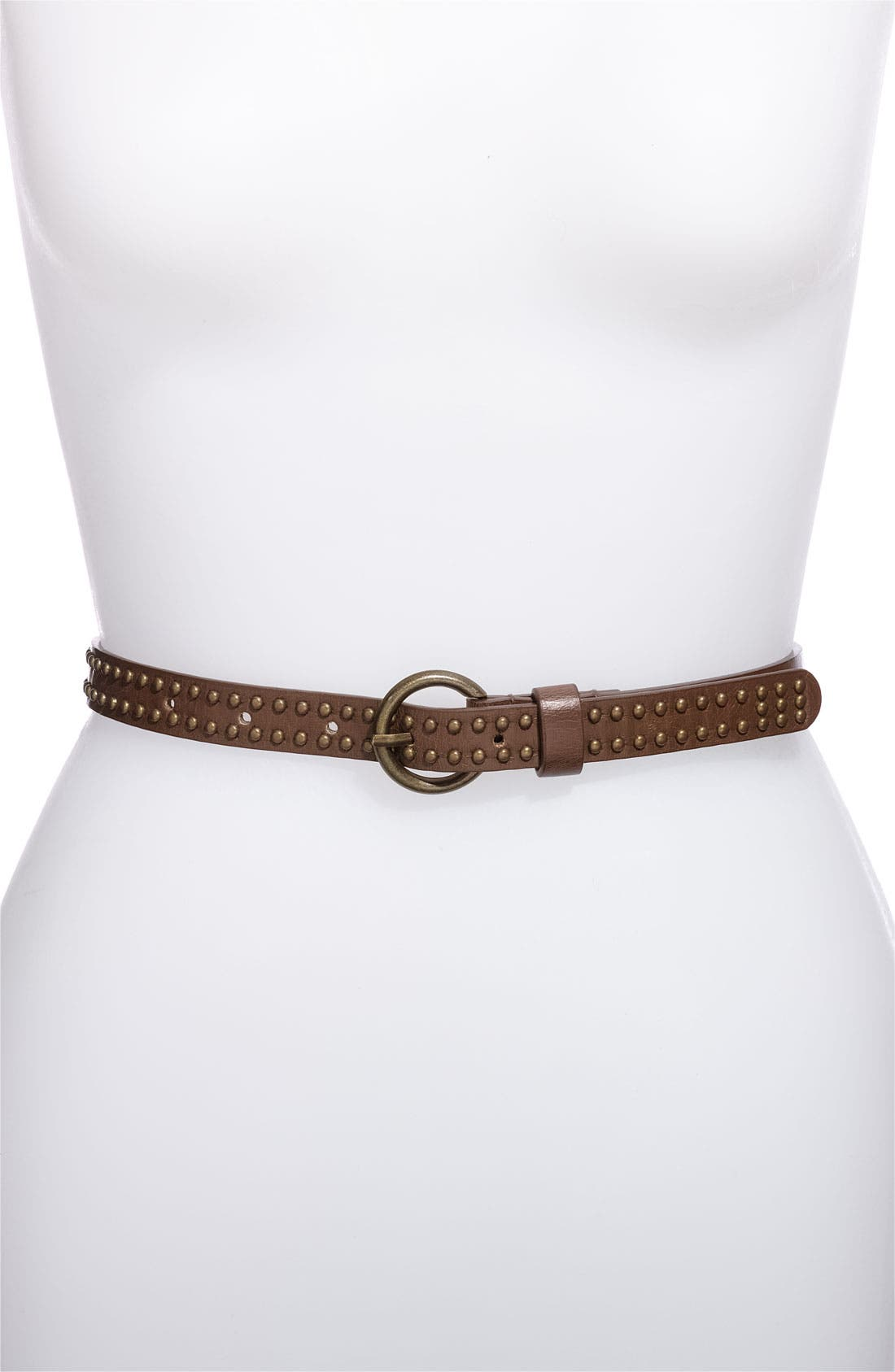 Alternate Image 3  - Lulu Studded Faux Leather & Stretch Rope Belts (2-Pack)