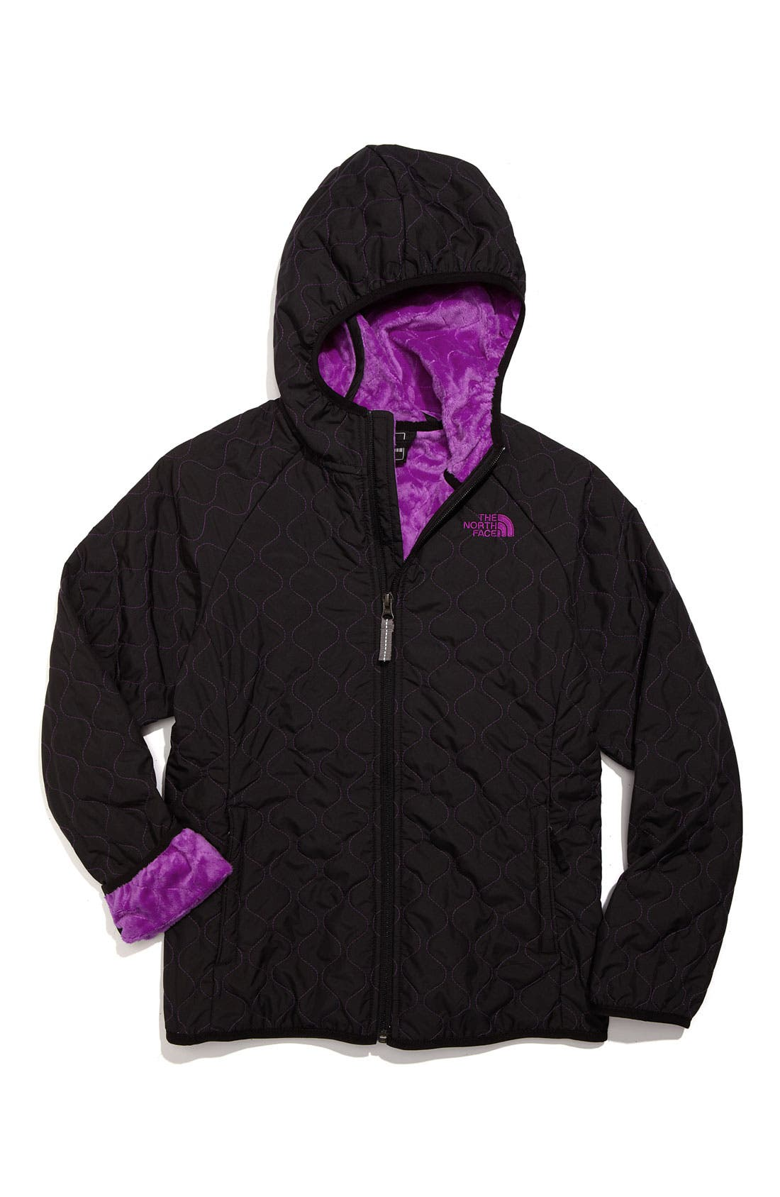 Main Image - The North Face 'Lil Breeze' Wind Jacket (Little Girls)