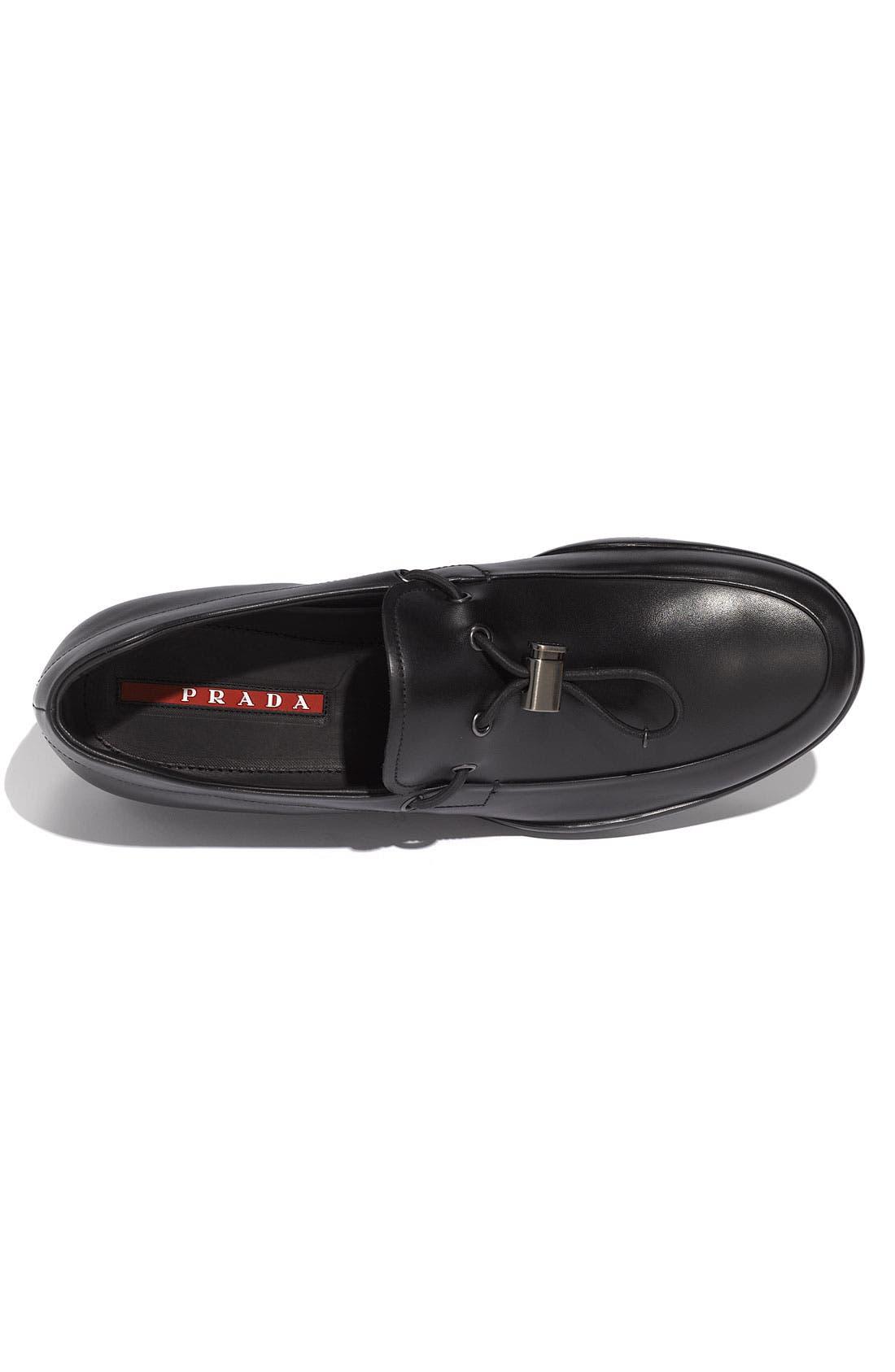 Alternate Image 3  - Prada Leather Loafer