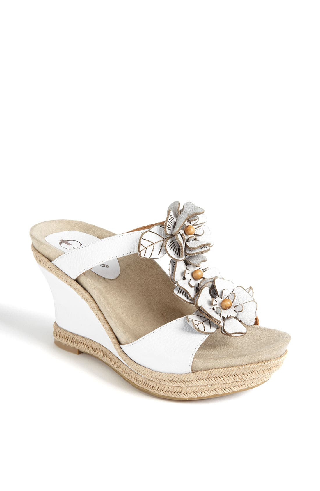 Alternate Image 1 Selected - Earthies® 'Bellini' Wedge Sandal (Exclusive)