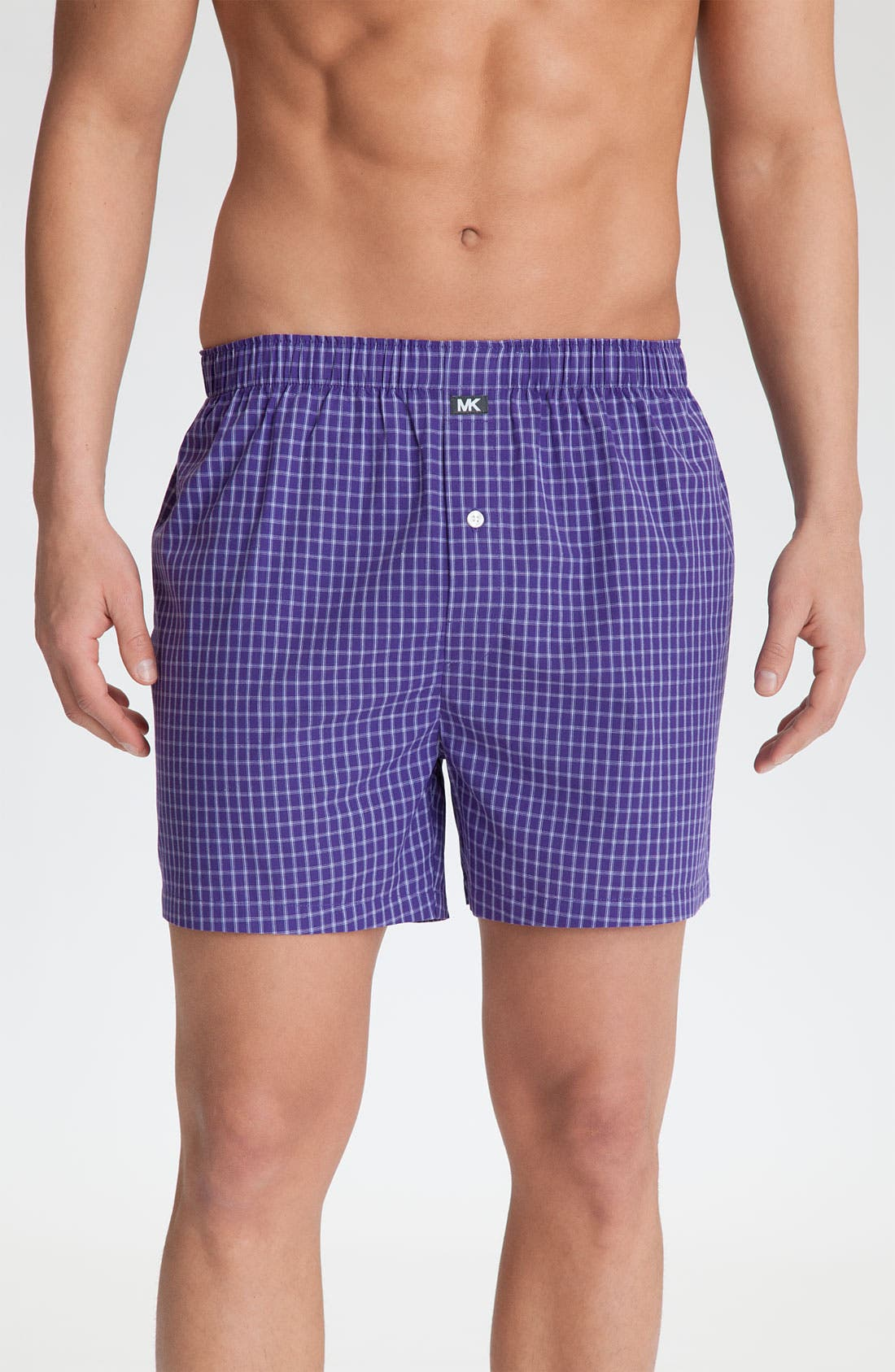 Alternate Image 2  - Michael Kors Woven Boxers (Assorted 2-Pack)
