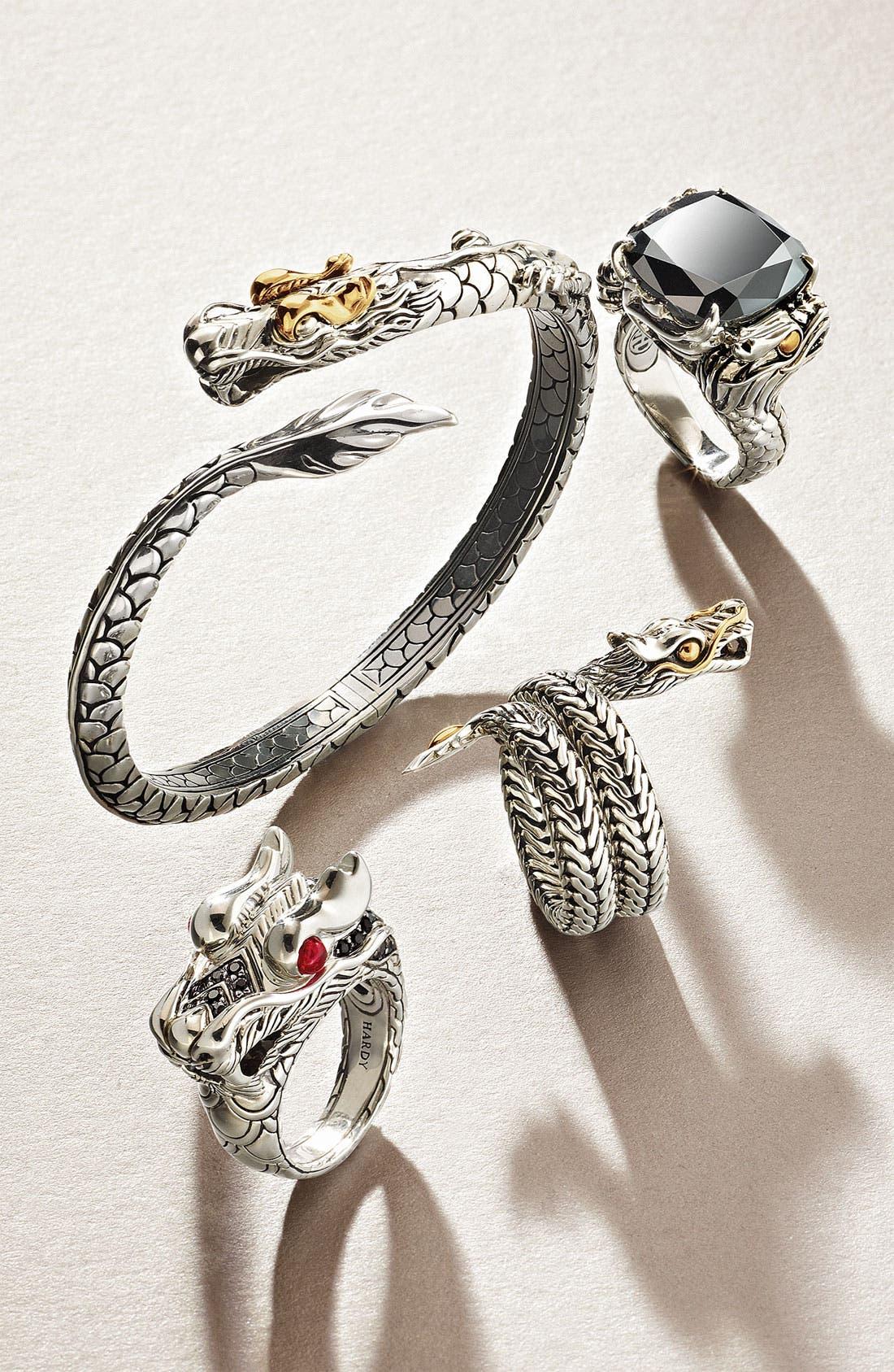 Alternate Image 3  - John Hardy 'Naga' Dragon Head Ring