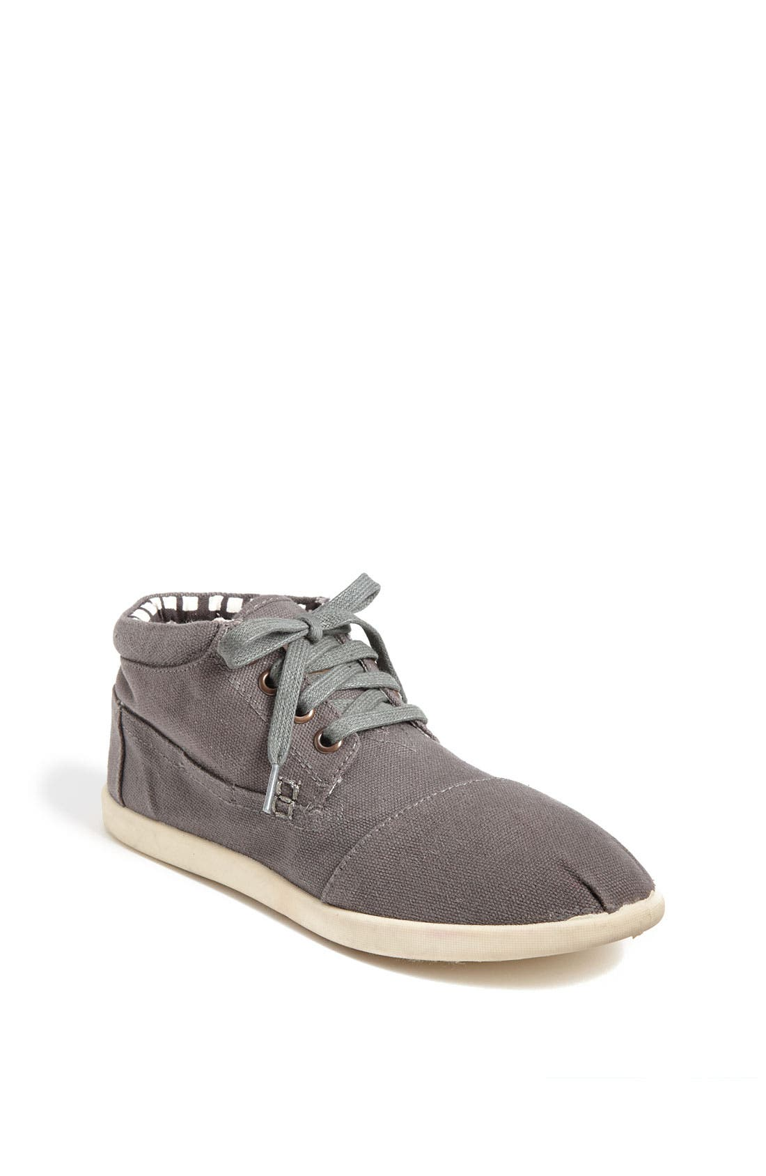 Main Image - TOMS 'Botas - Youth' Canvas Boot (Toddler, Little Kid & Big Kid)