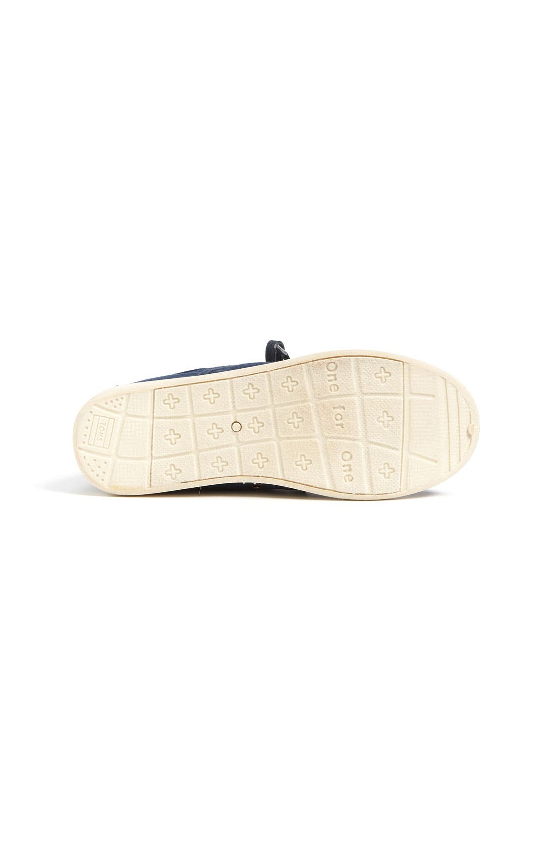 Alternate Image 4  - TOMS 'Cordones - Youth' Canvas Slip-On (Toddler, Little Kid & Big Kid)