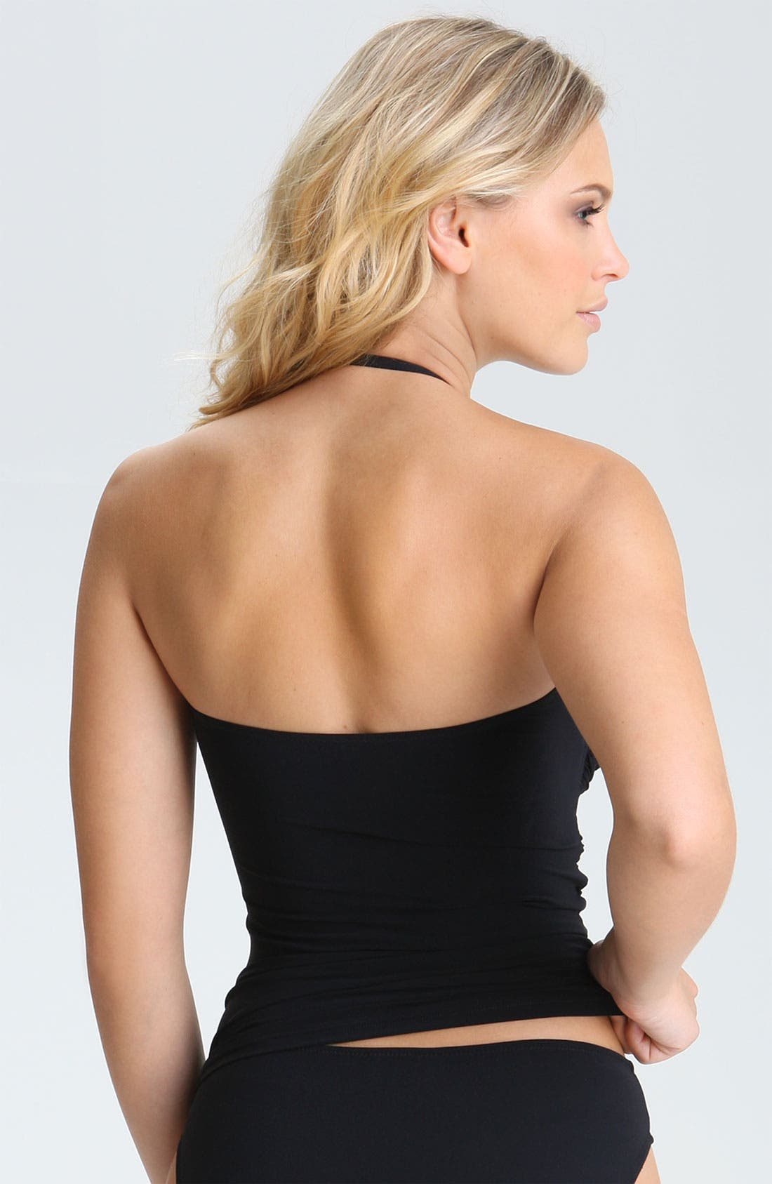 Alternate Image 2  - Profile by Gottex 'Black Tie' Tankini Top