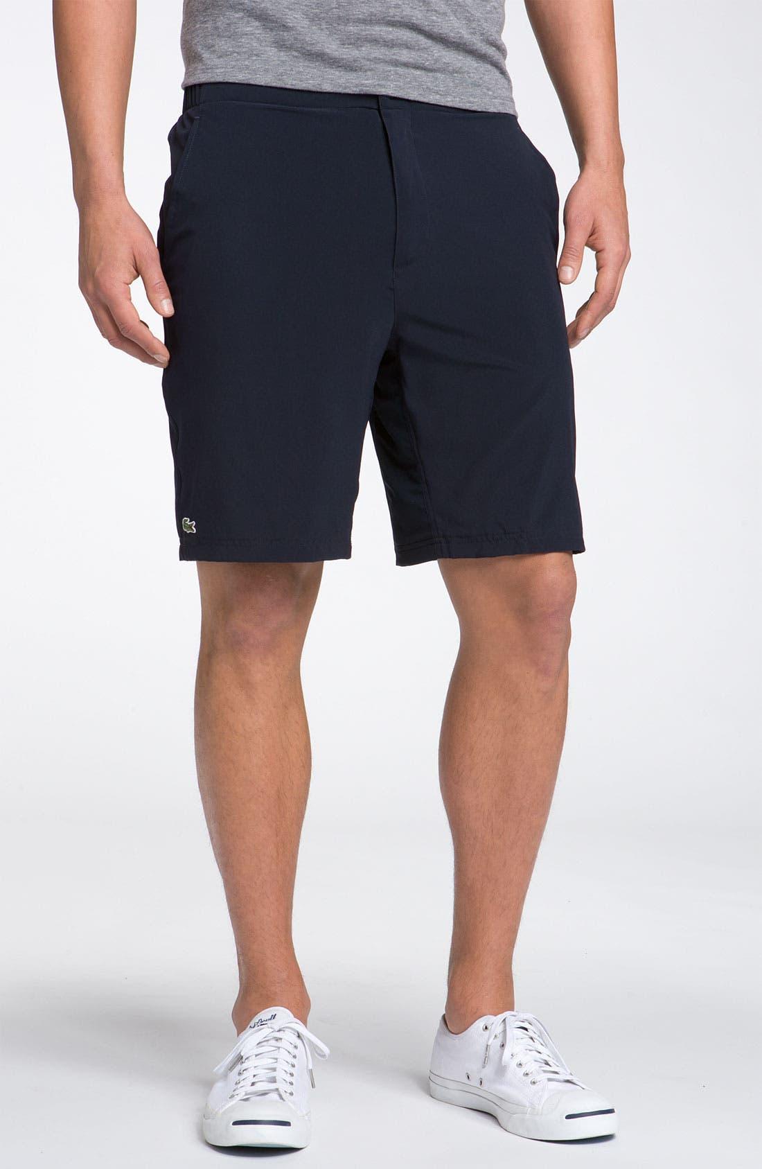 Main Image - Lacoste Taffeta Tennis Shorts