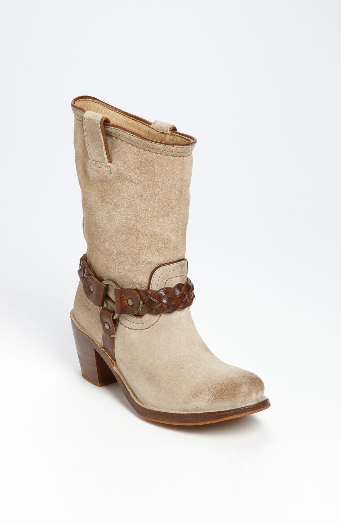 Alternate Image 1 Selected - Frye 'Carmen' Braided Harness Boot