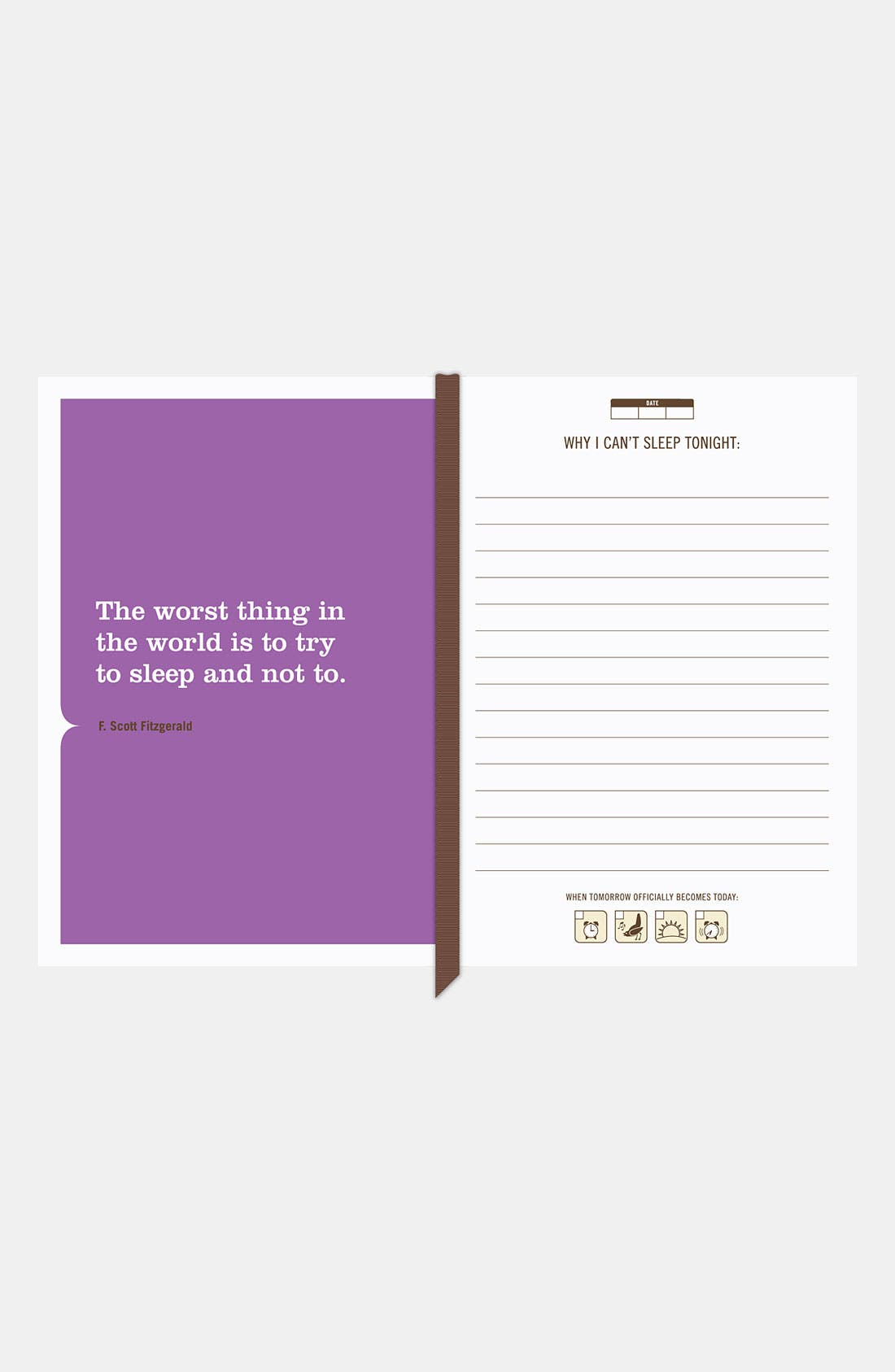 Alternate Image 2  - Knock Knock 'I Can't Sleep' Mini Journal