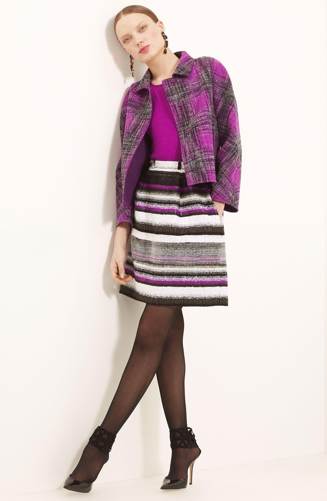 Main Image - Oscar de la Renta Jacket, Skirt & Shell