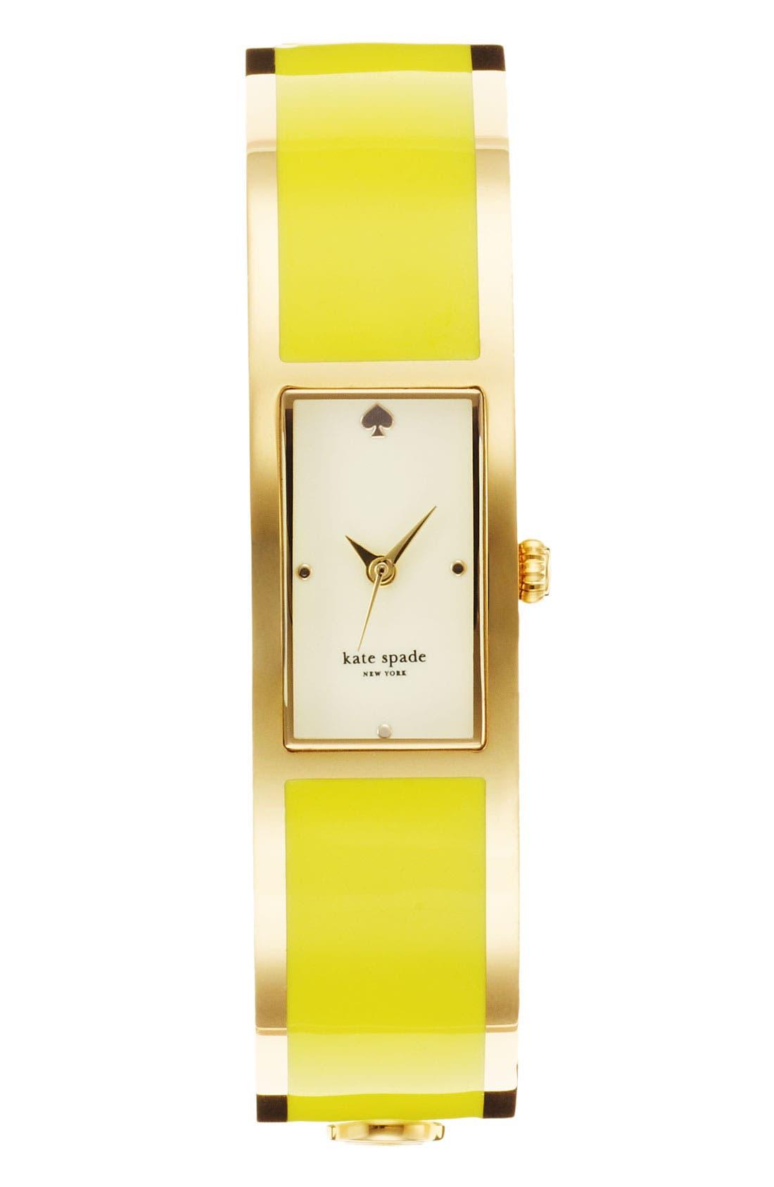 Main Image - kate spade new york 'carousel' bangle watch, 15mm x 16mm