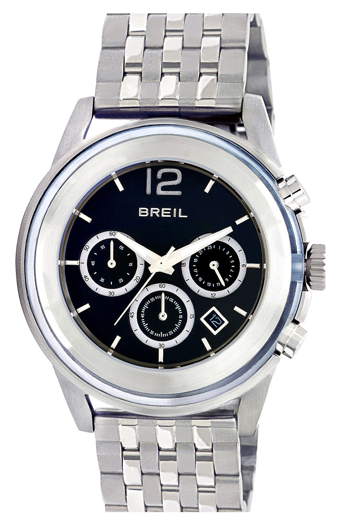 Alternate Image 1 Selected - Breil 'Orchestra' Chronograph Bracelet Watch, 45mm