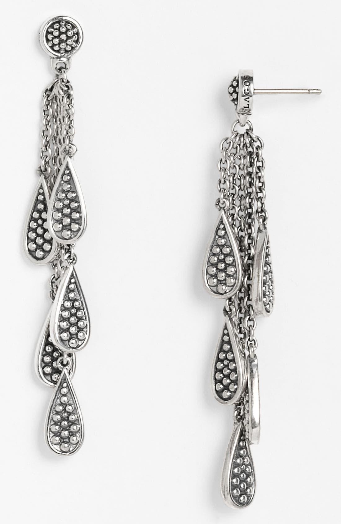 Alternate Image 1 Selected - LAGOS Caviar Multi Teardrop Earrings