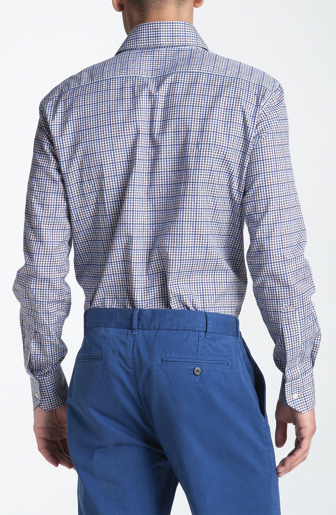 Alternate Image 2  - Etro Plaid Woven Dress Shirt